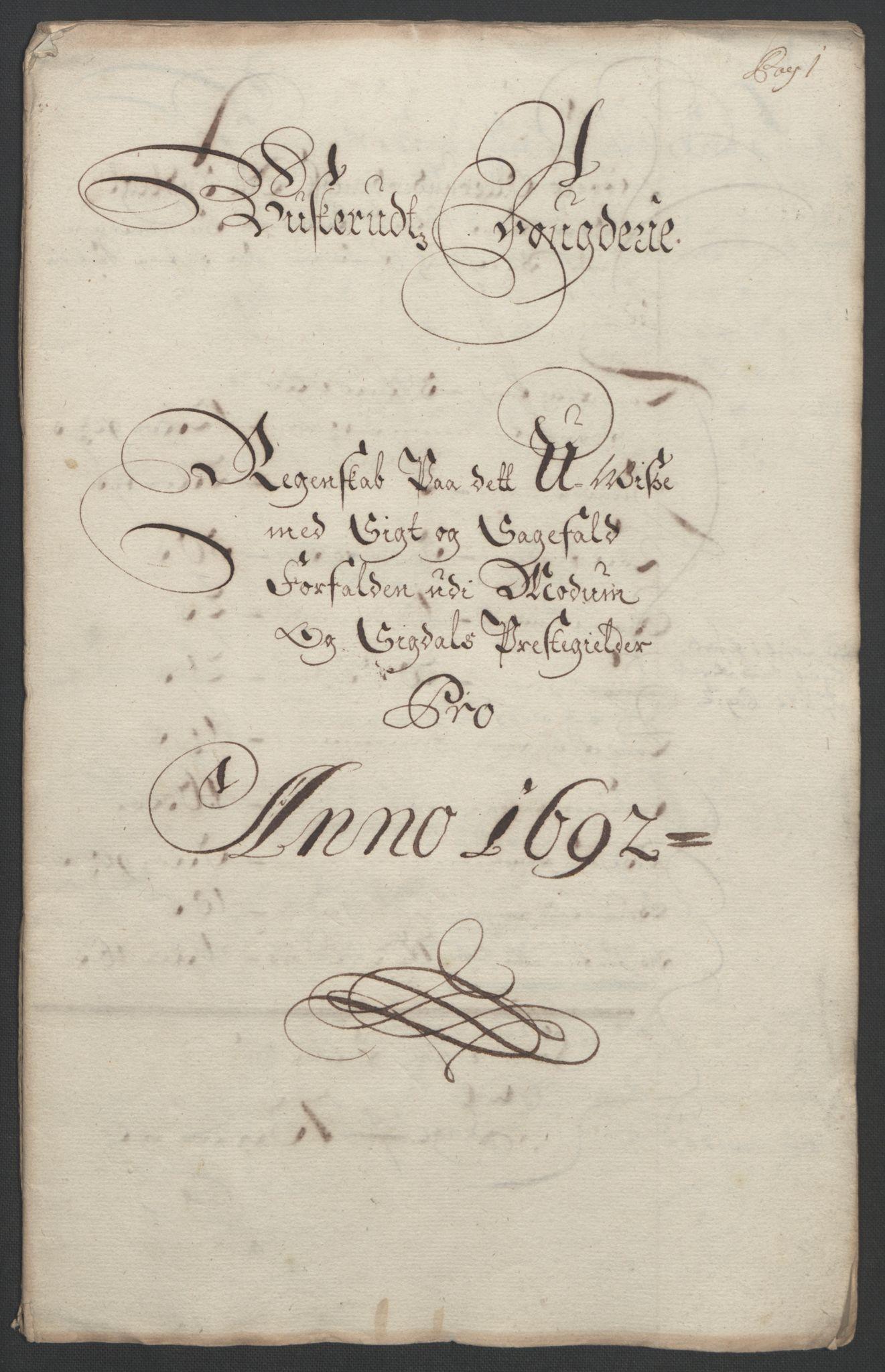 RA, Rentekammeret inntil 1814, Reviderte regnskaper, Fogderegnskap, R25/L1681: Fogderegnskap Buskerud, 1691-1692, s. 338