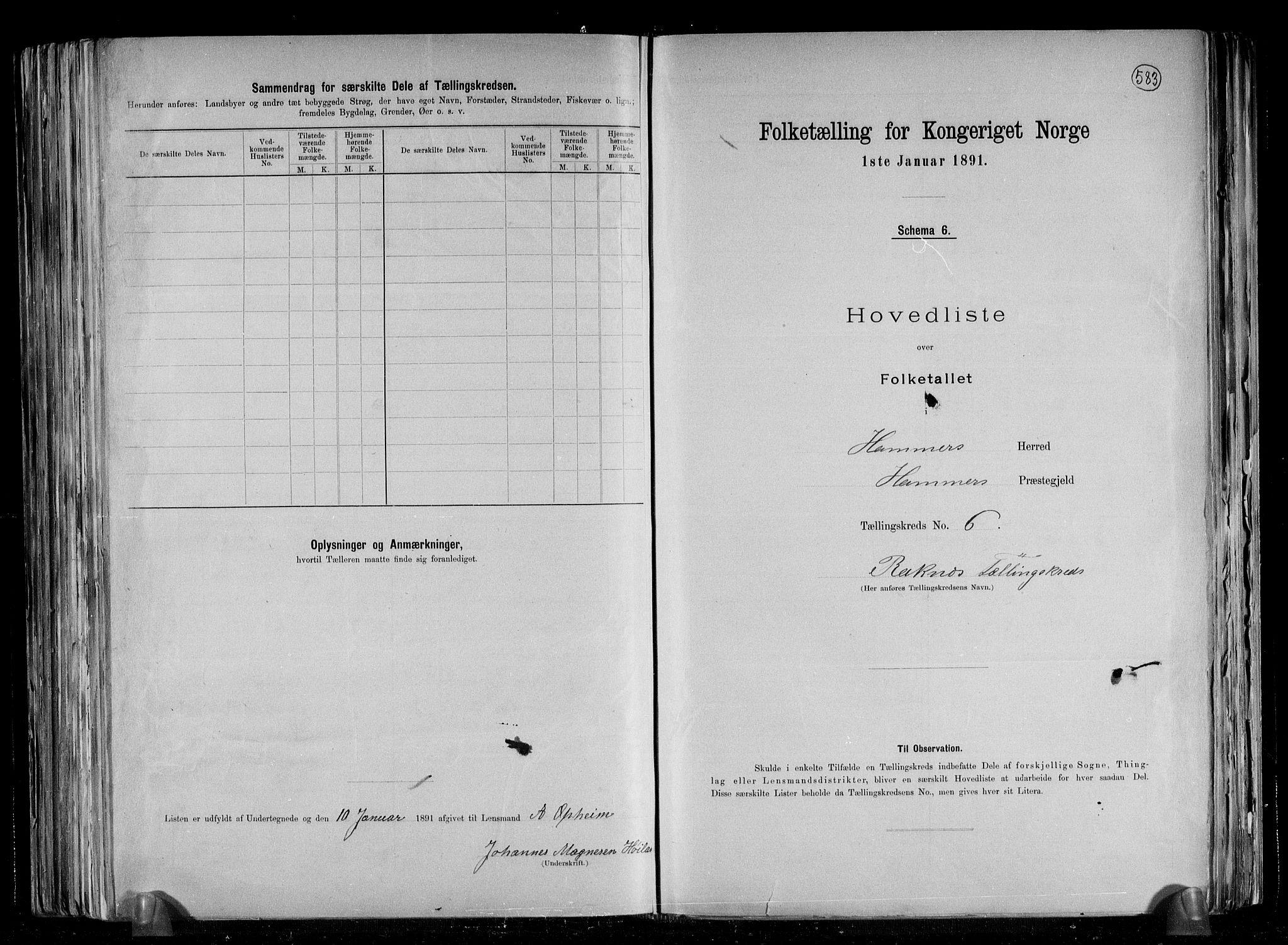 RA, Folketelling 1891 for 1254 Hamre herred, 1891, s. 17
