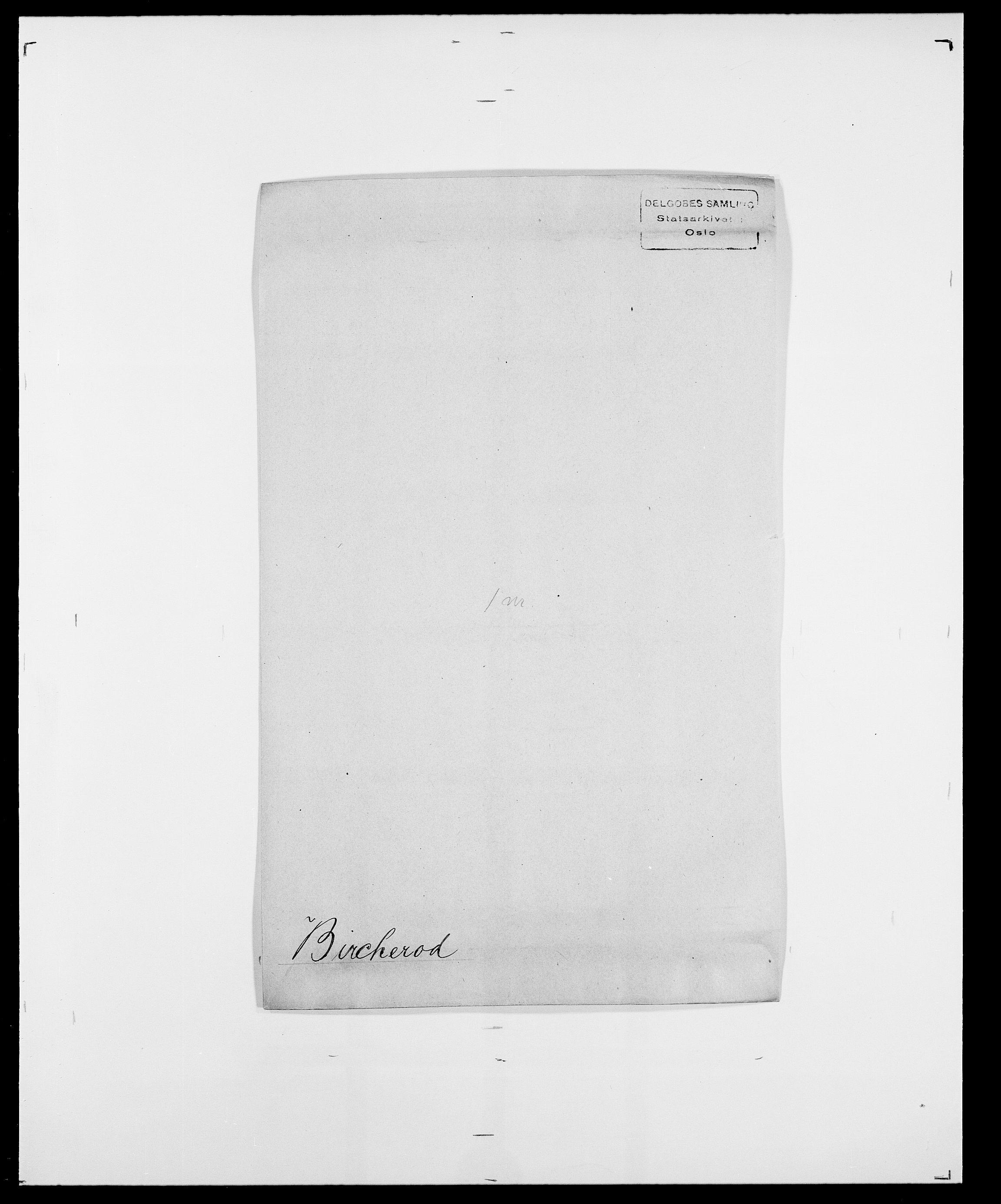 SAO, Delgobe, Charles Antoine - samling, D/Da/L0004: Bergendahl - Blære, s. 361