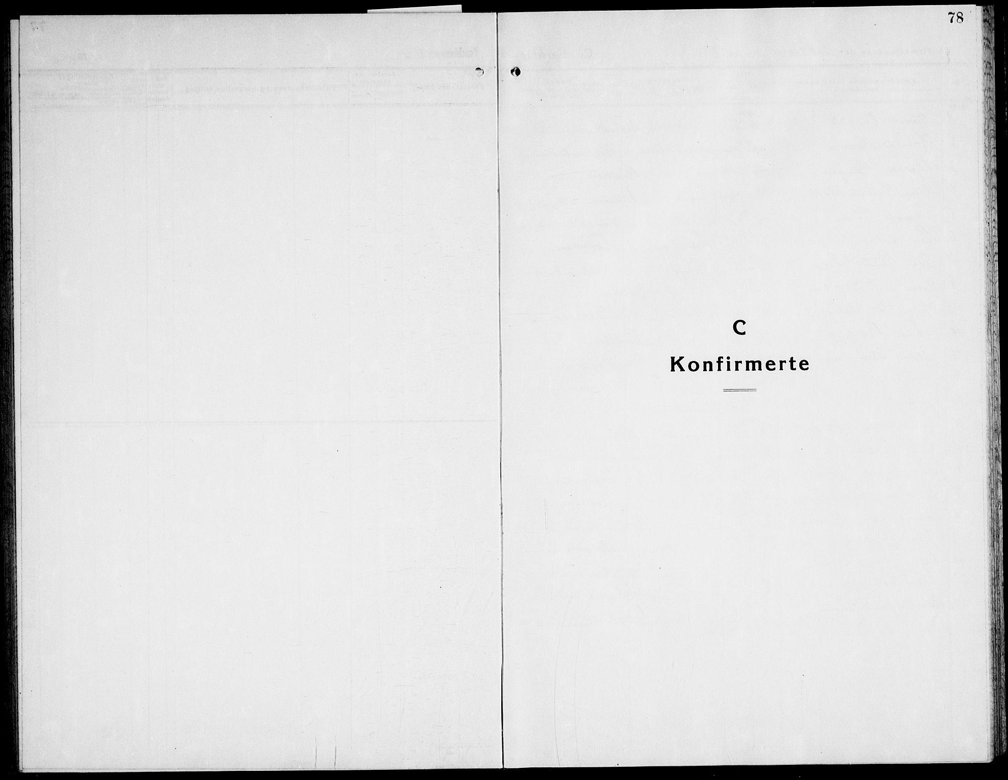 SAT, Ministerialprotokoller, klokkerbøker og fødselsregistre - Nord-Trøndelag, 741/L0403: Ministerialbok nr. 741C04, 1925-1944, s. 78