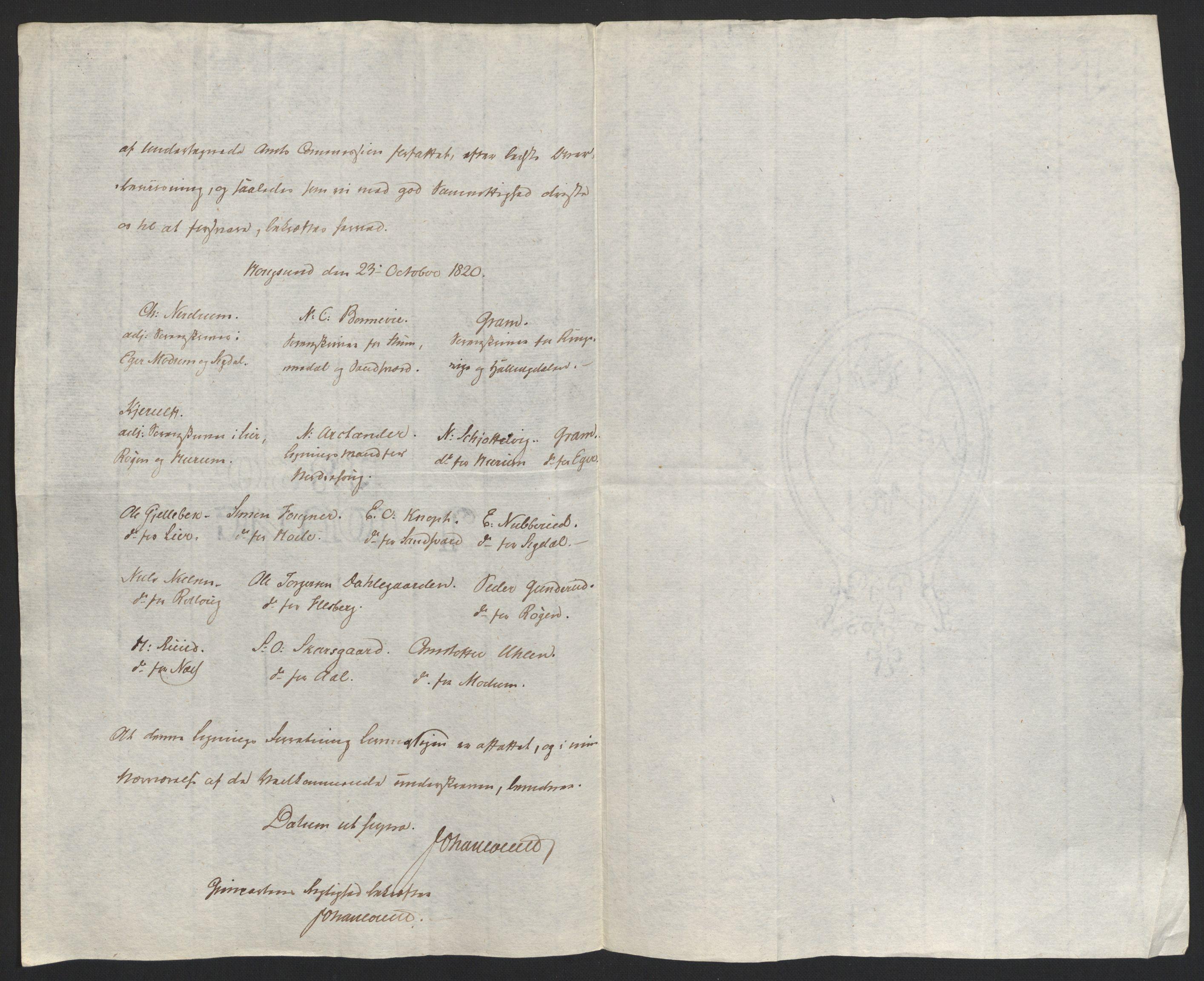 NOBA, Norges Bank/Sølvskatten 1816*, 1816-1822, s. 71