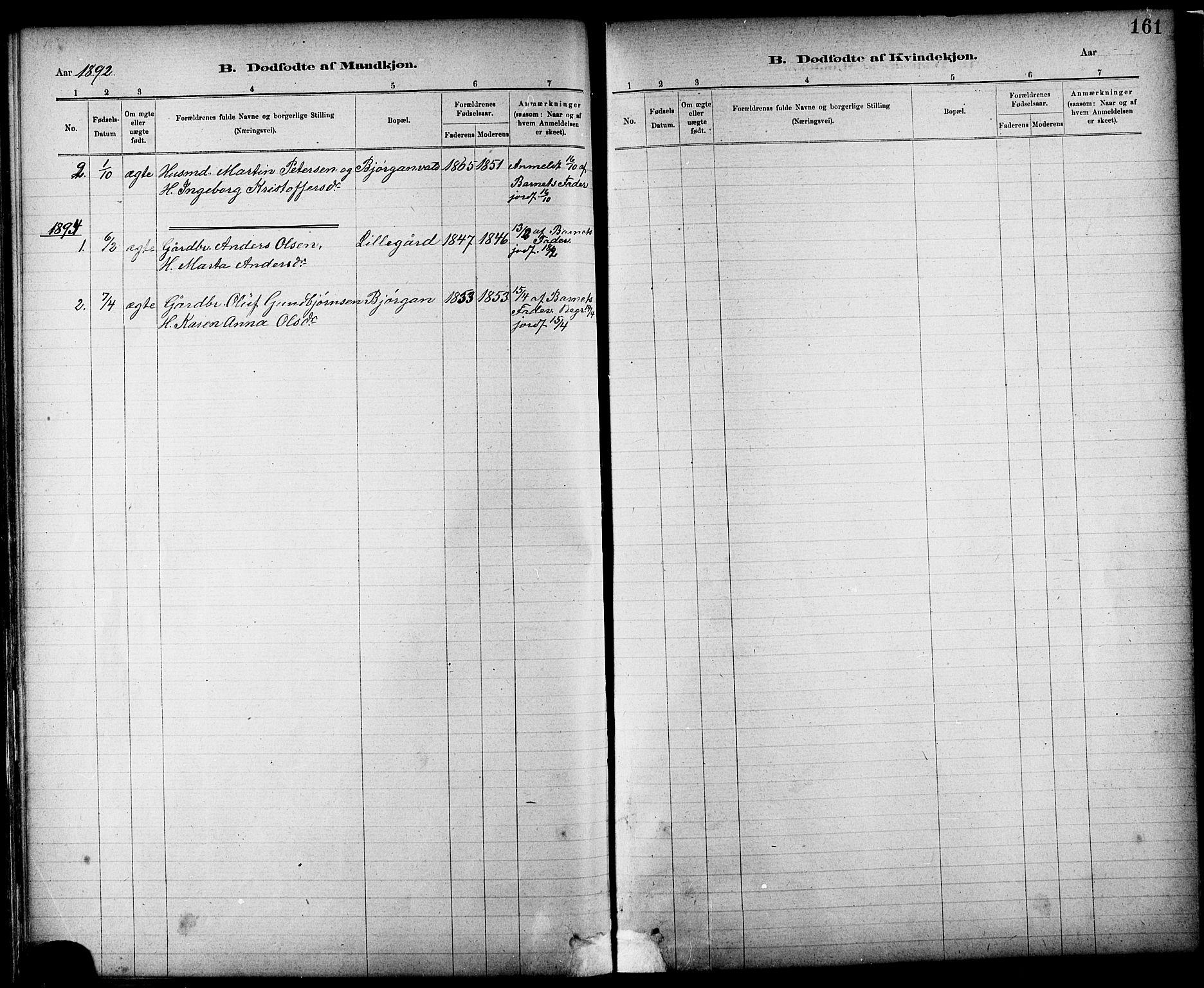 SAT, Ministerialprotokoller, klokkerbøker og fødselsregistre - Nord-Trøndelag, 724/L0267: Klokkerbok nr. 724C03, 1879-1898, s. 161
