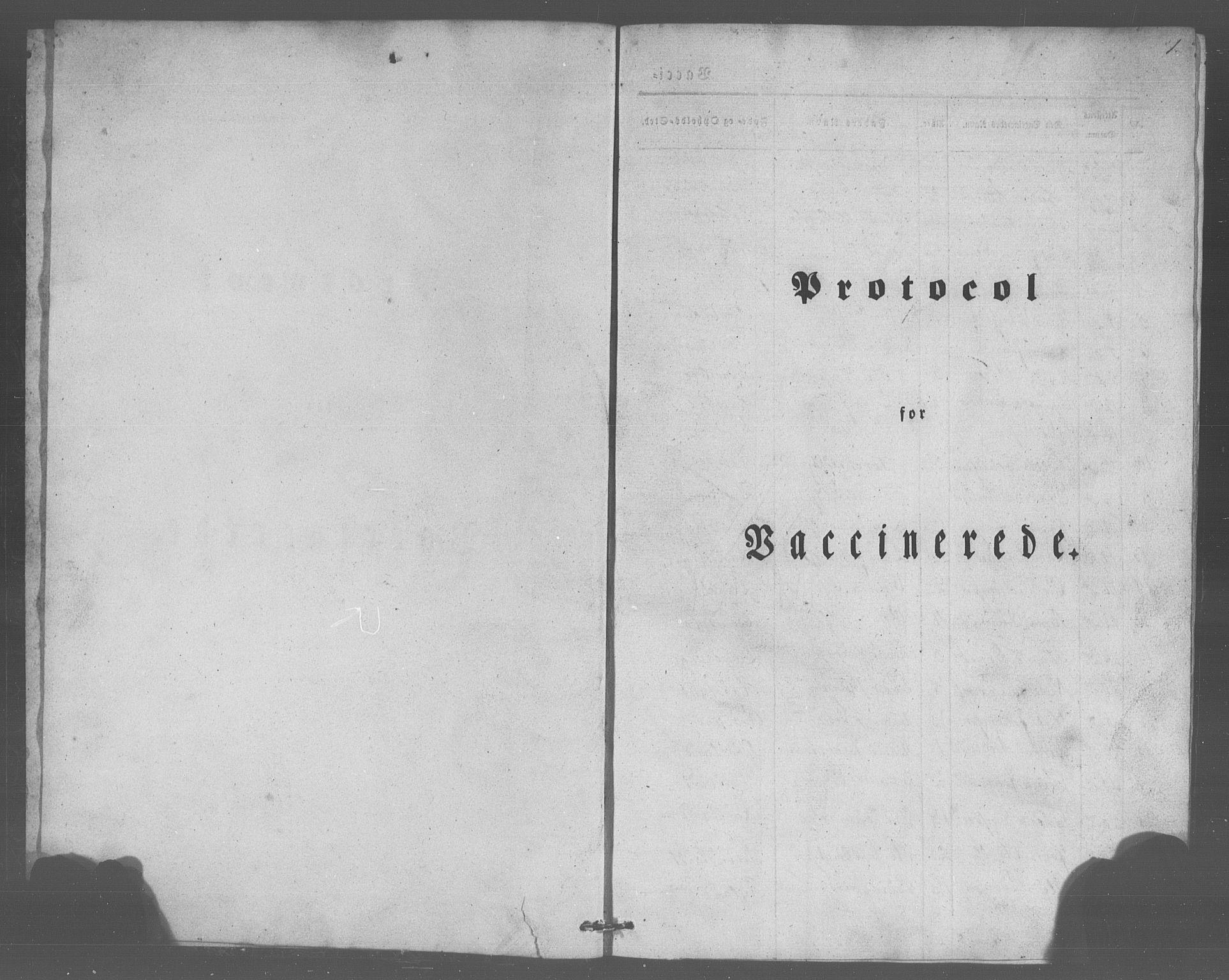 SAB, Manger sokneprestembete, H/Haa: Ministerialbok nr. A 10, 1844-1859, s. 1
