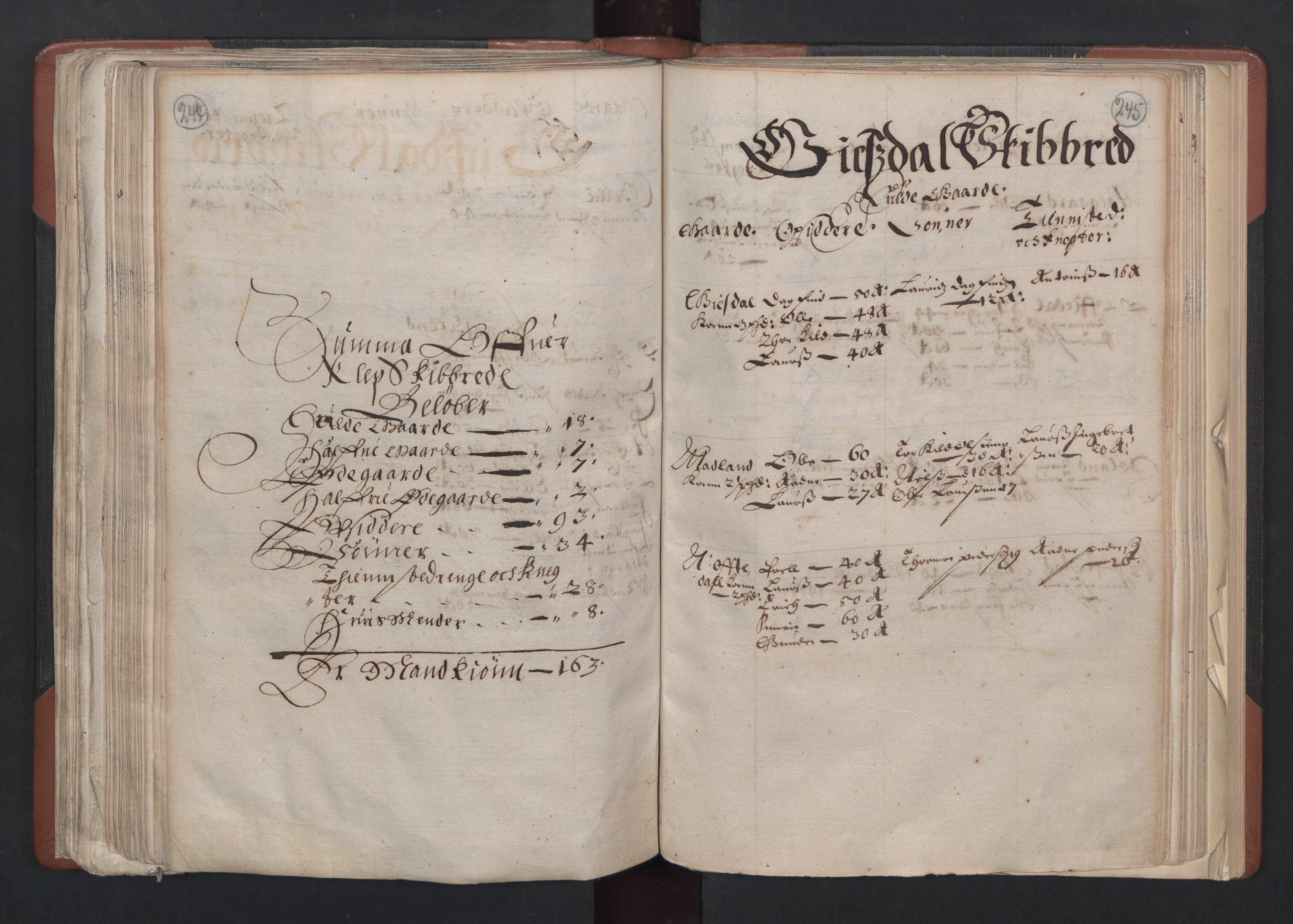 RA, Fogdenes og sorenskrivernes manntall 1664-1666, nr. 11: Jæren og Dalane fogderi, 1664, s. 244-245