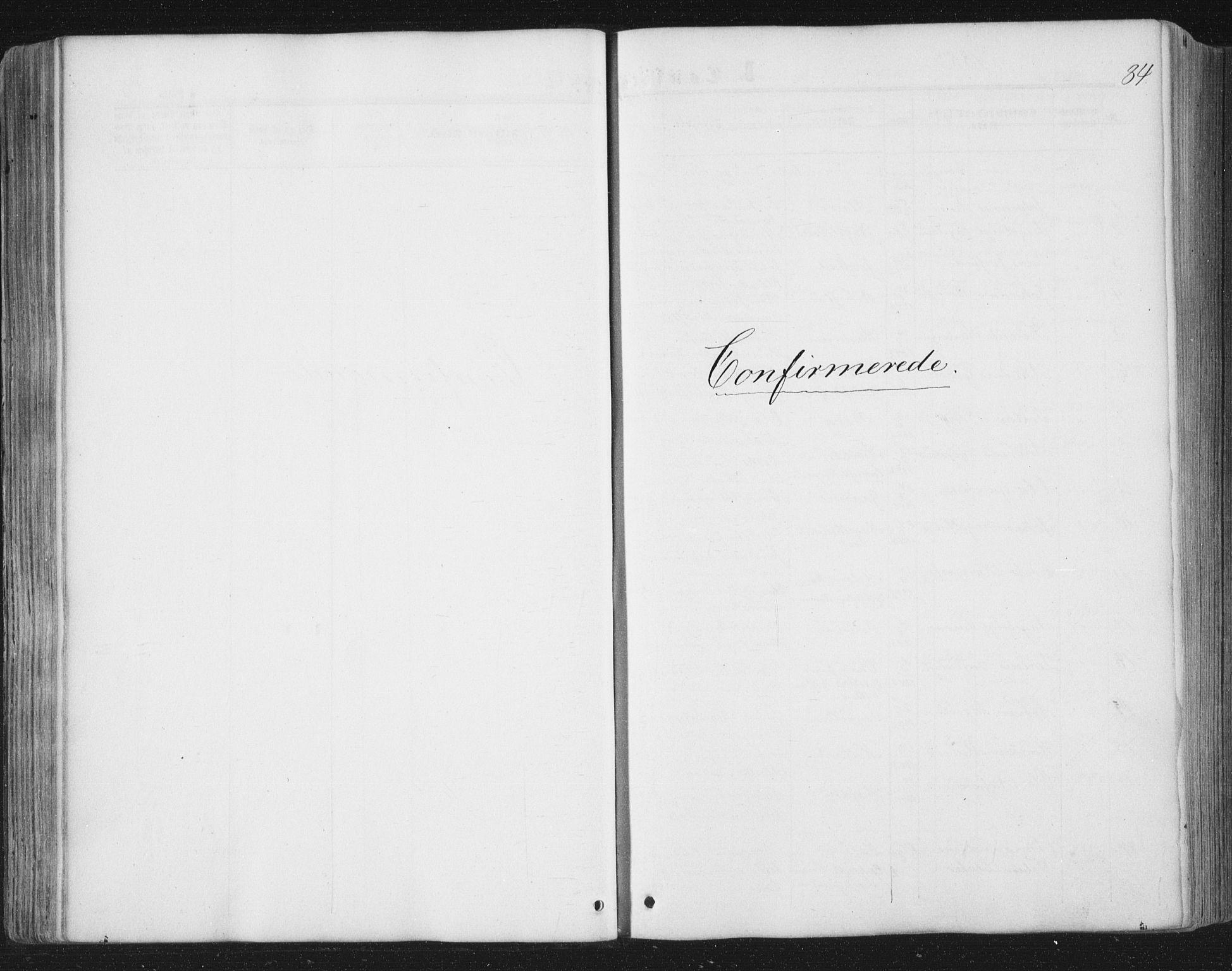 SAT, Ministerialprotokoller, klokkerbøker og fødselsregistre - Nord-Trøndelag, 749/L0472: Ministerialbok nr. 749A06, 1857-1873, s. 84