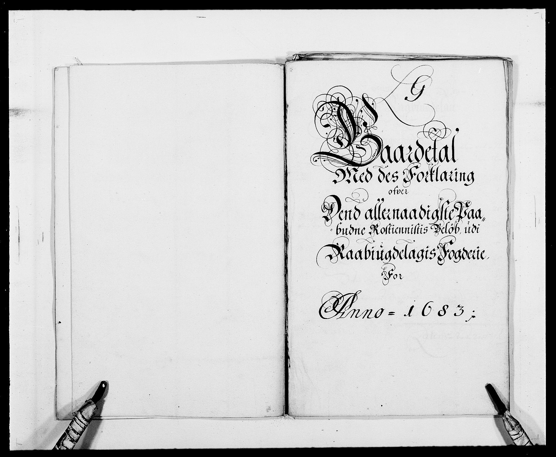 RA, Rentekammeret inntil 1814, Reviderte regnskaper, Fogderegnskap, R40/L2438: Fogderegnskap Råbyggelag, 1682-1683, s. 342