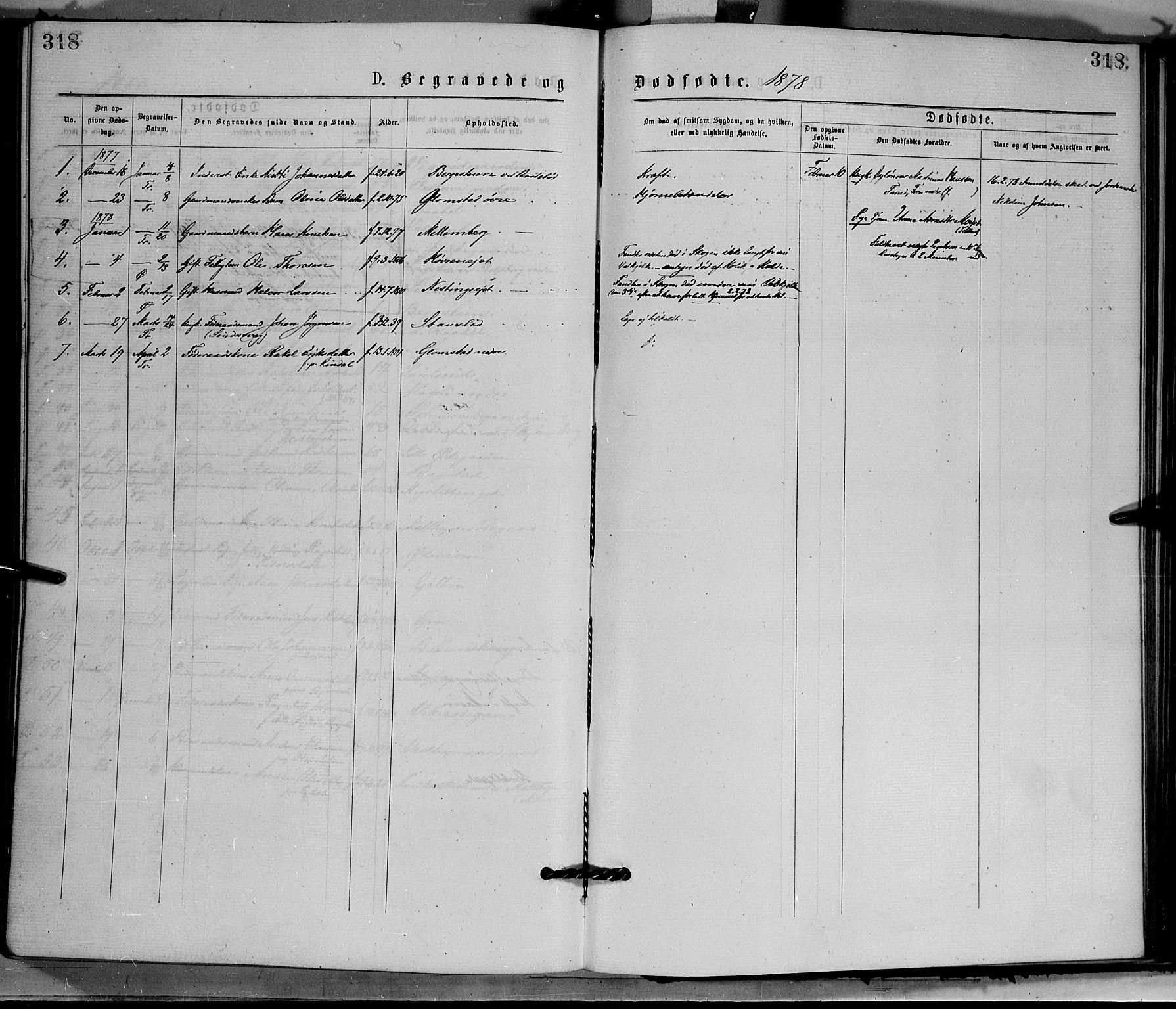 SAH, Øyer prestekontor, Ministerialbok nr. 7, 1875-1878, s. 318
