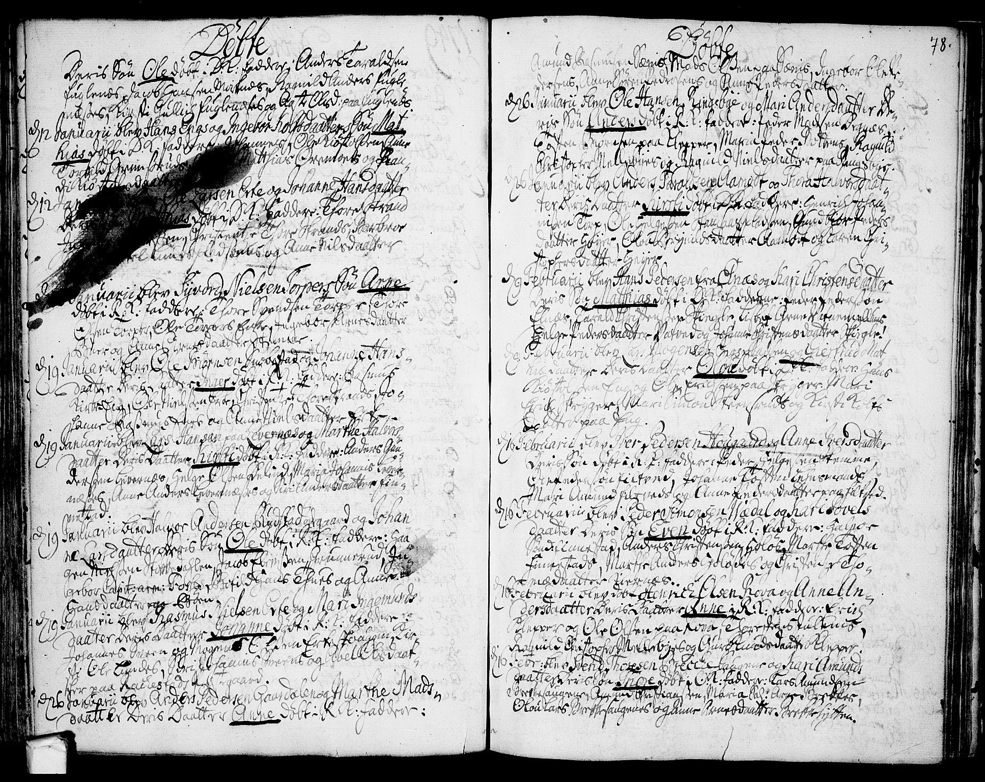 SAO, Rakkestad prestekontor Kirkebøker, F/Fa/L0002: Ministerialbok nr. I 2, 1741-1751, s. 78