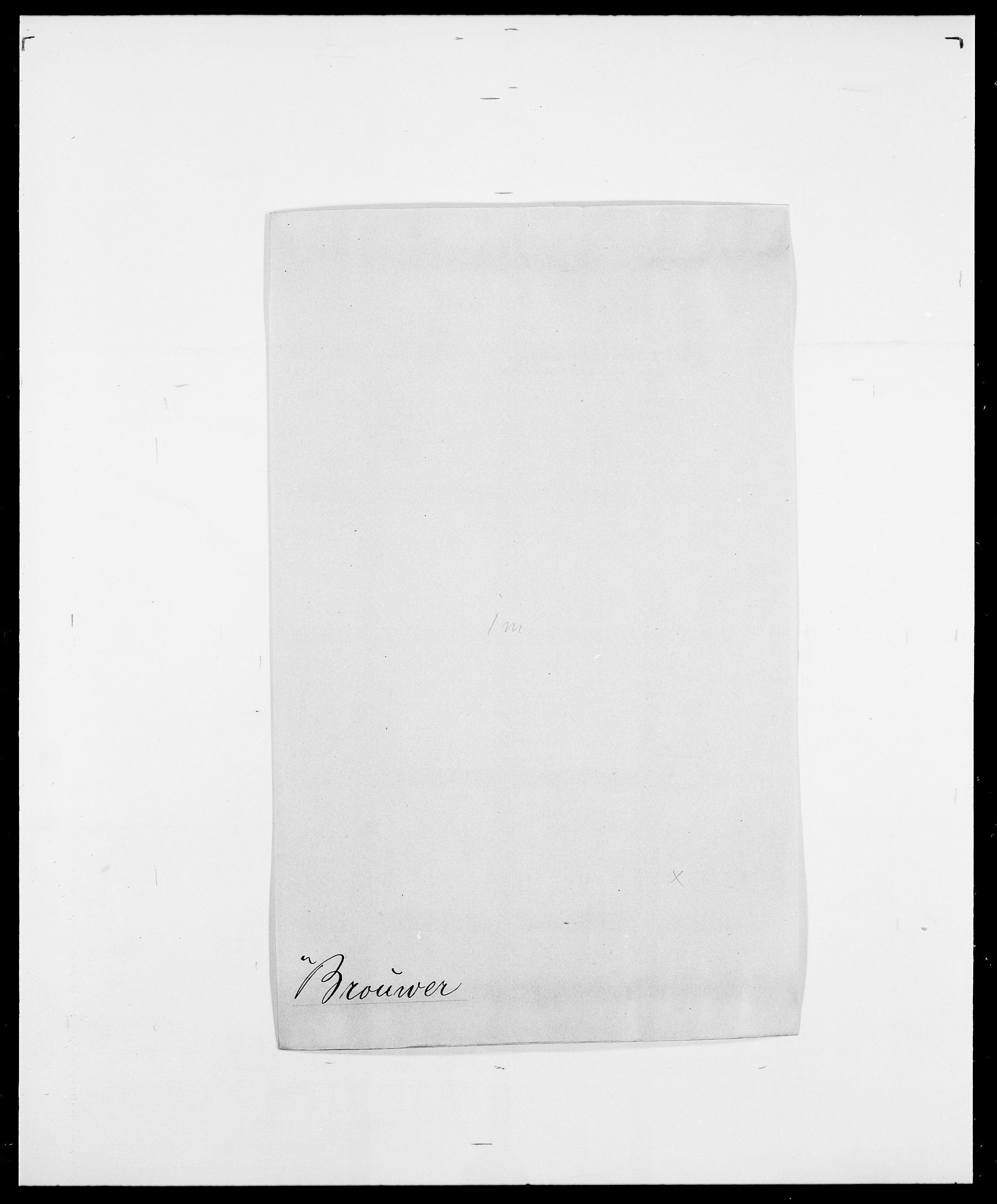 SAO, Delgobe, Charles Antoine - samling, D/Da/L0006: Brambani - Brønø, s. 541