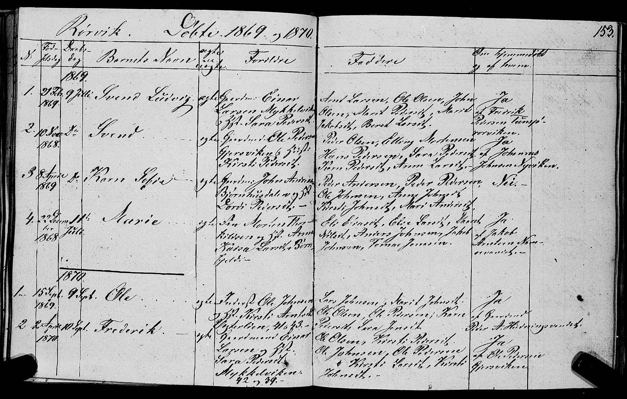 SAT, Ministerialprotokoller, klokkerbøker og fødselsregistre - Nord-Trøndelag, 762/L0538: Ministerialbok nr. 762A02 /1, 1833-1879, s. 153