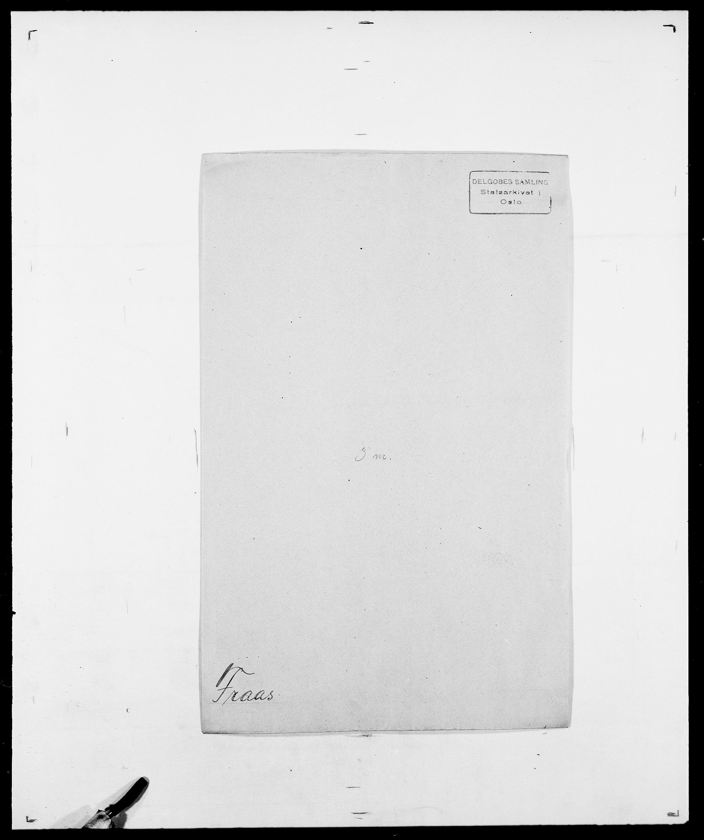 SAO, Delgobe, Charles Antoine - samling, D/Da/L0012: Flor, Floer, Flohr - Fritzner, s. 686