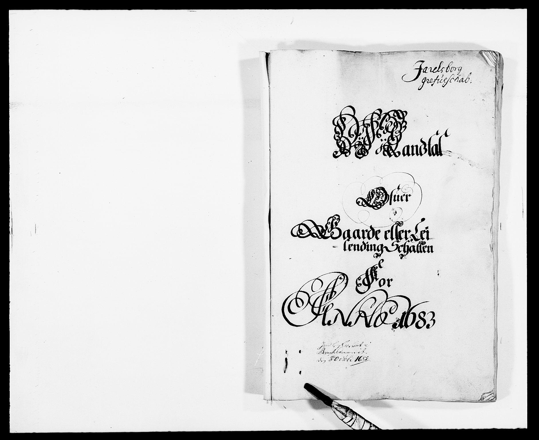 RA, Rentekammeret inntil 1814, Reviderte regnskaper, Fogderegnskap, R32/L1852: Fogderegnskap Jarlsberg grevskap, 1683, s. 10