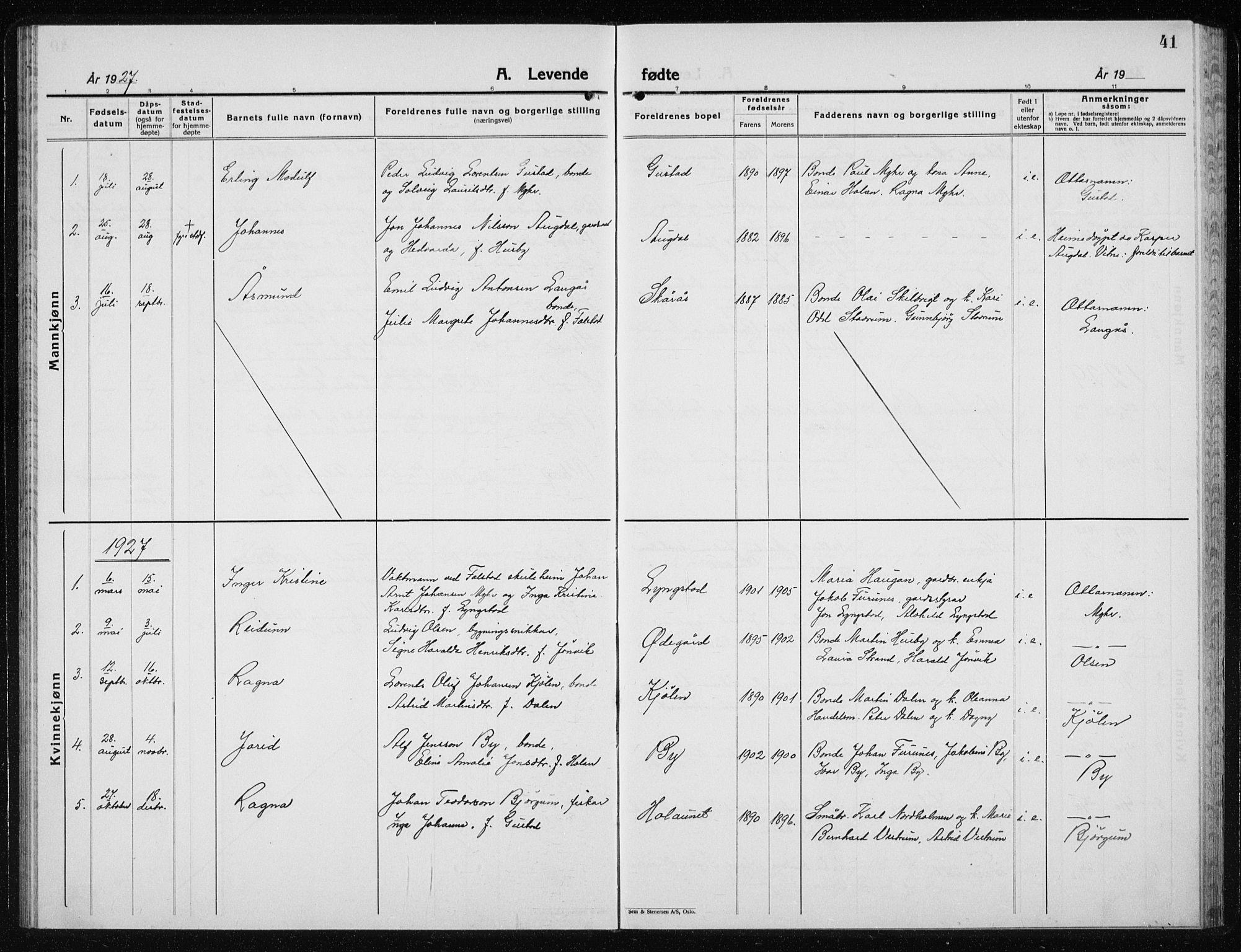 SAT, Ministerialprotokoller, klokkerbøker og fødselsregistre - Nord-Trøndelag, 719/L0180: Klokkerbok nr. 719C01, 1878-1940, s. 41