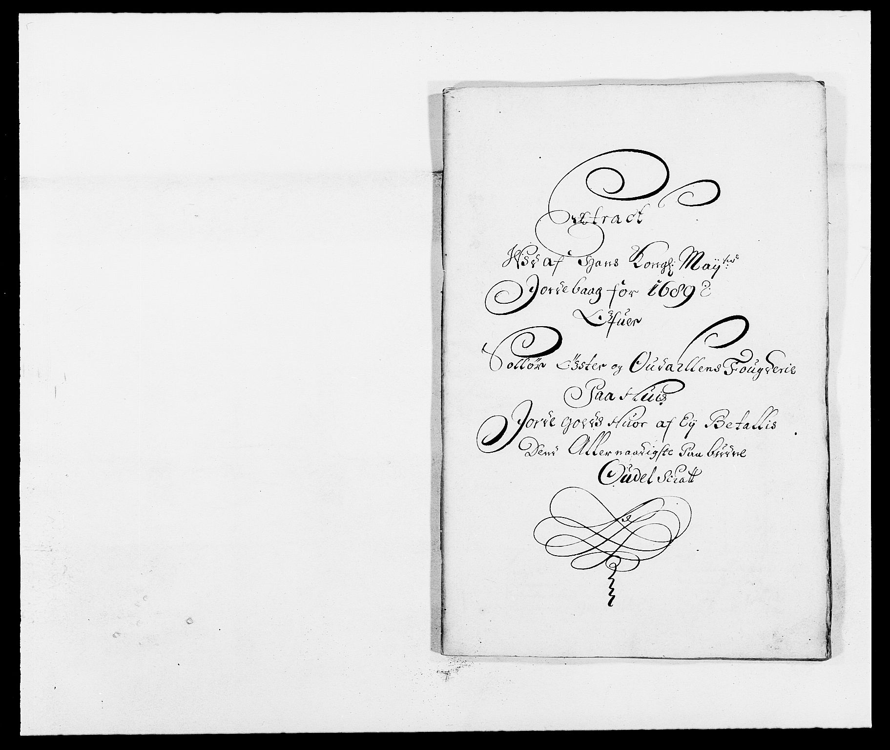 RA, Rentekammeret inntil 1814, Reviderte regnskaper, Fogderegnskap, R13/L0827: Fogderegnskap Solør, Odal og Østerdal, 1689, s. 245