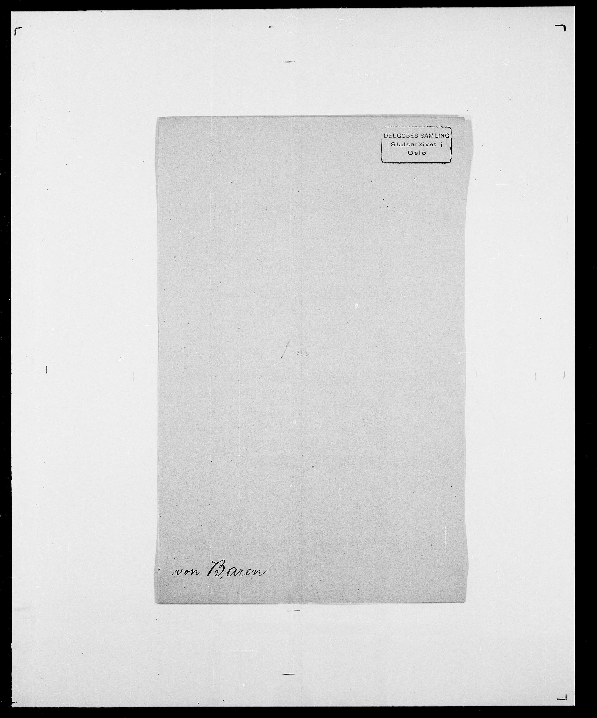 SAO, Delgobe, Charles Antoine - samling, D/Da/L0003: Barca - Bergen, s. 310