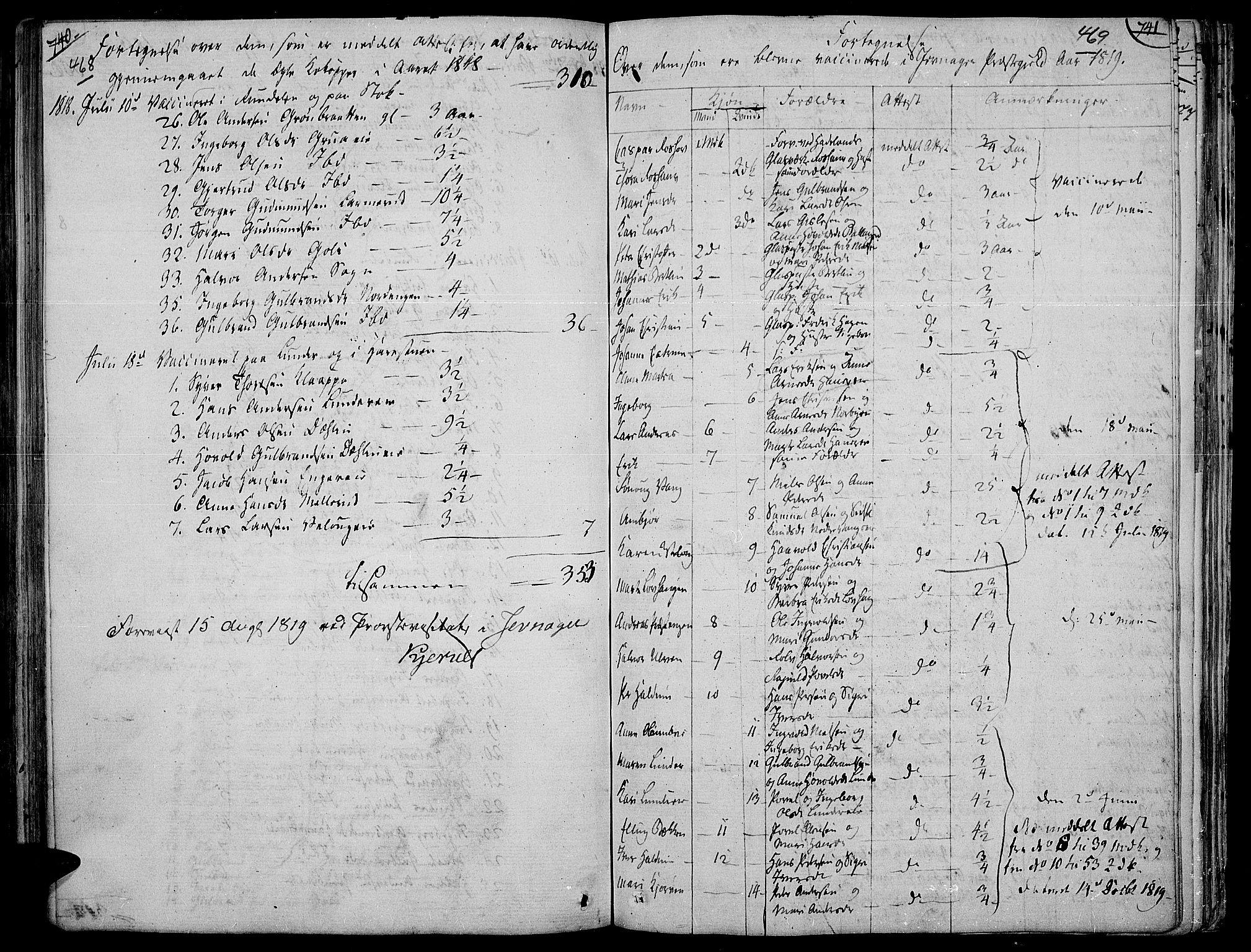 SAH, Jevnaker prestekontor, Ministerialbok nr. 4, 1800-1861, s. 468-469