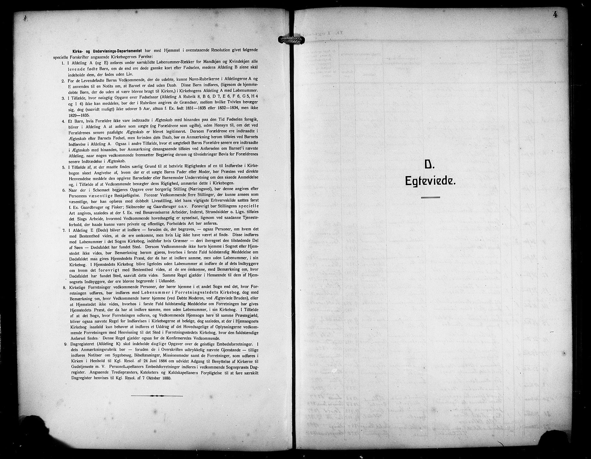 SAST, Haugesund sokneprestkontor, H/Ha/Hab/L0008: Klokkerbok nr. B 8, 1909-1921, s. 4
