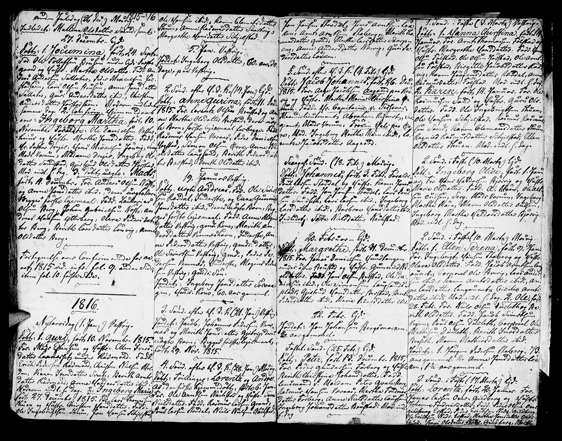 SAT, Ministerialprotokoller, klokkerbøker og fødselsregistre - Nord-Trøndelag, 722/L0216: Ministerialbok nr. 722A03, 1756-1816