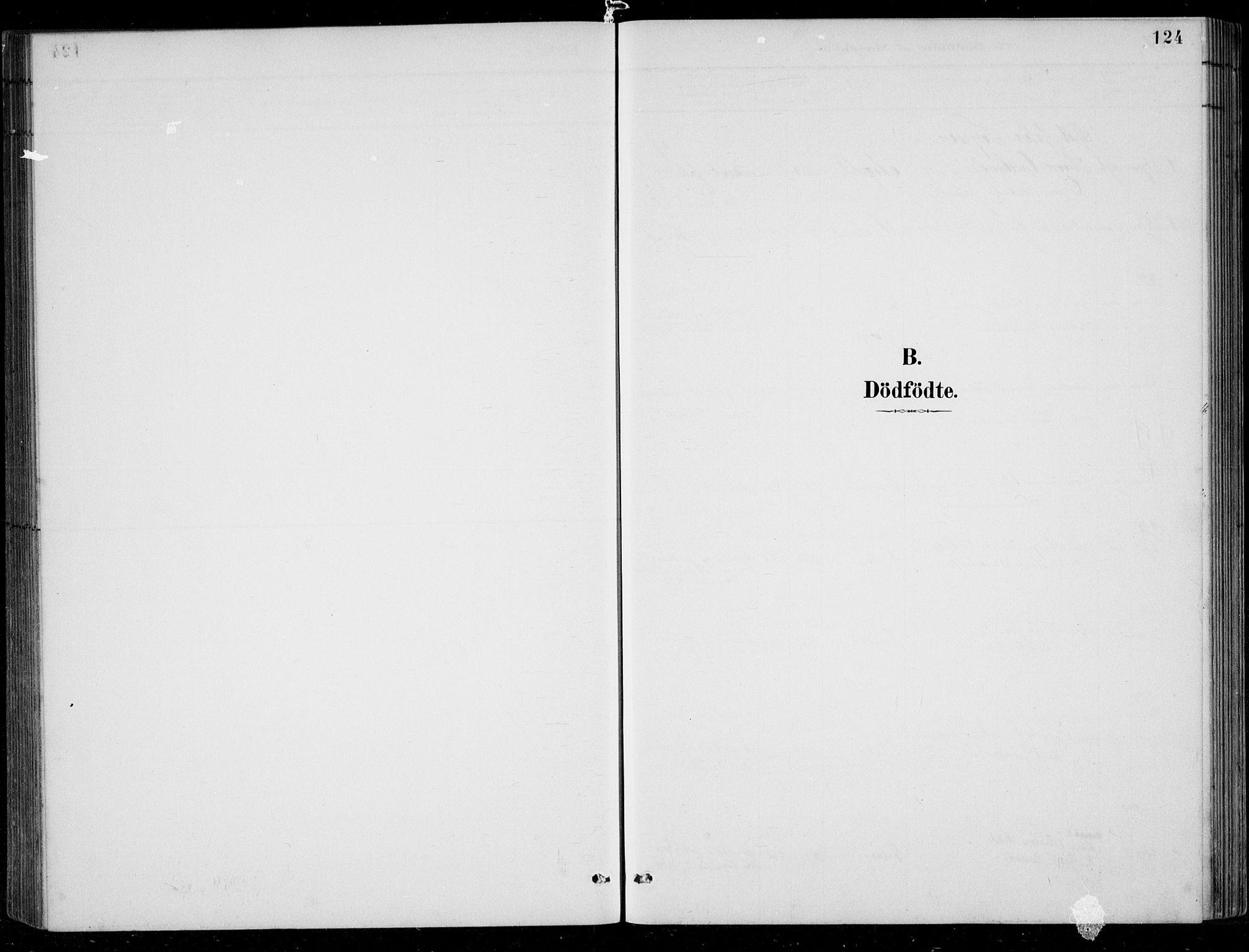 SAK, Bjelland sokneprestkontor, F/Fb/Fbc/L0003: Klokkerbok nr. B 3, 1887-1924, s. 124