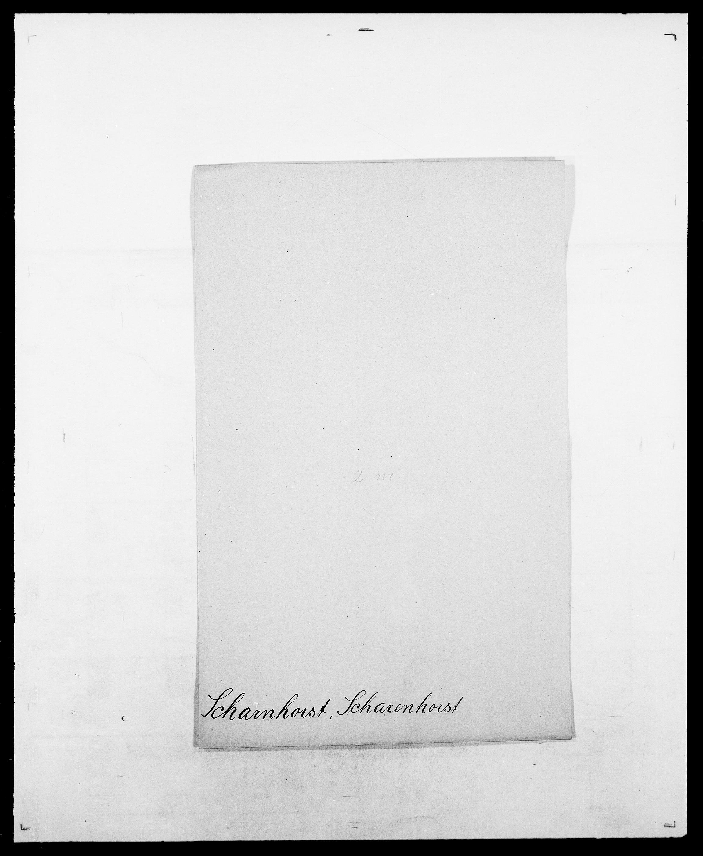 SAO, Delgobe, Charles Antoine - samling, D/Da/L0034: Saabye - Schmincke, s. 411