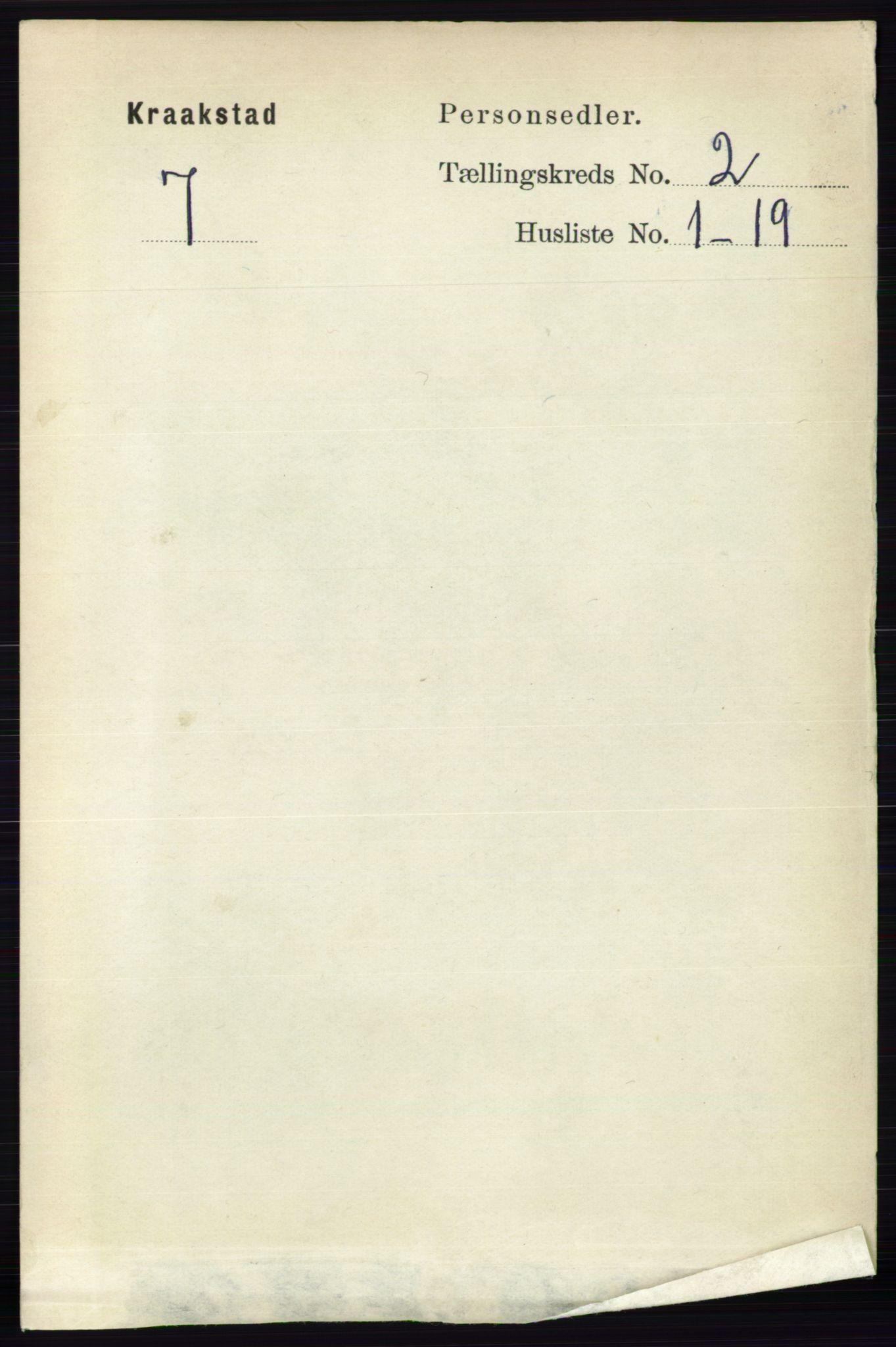 RA, Folketelling 1891 for 0212 Kråkstad herred, 1891, s. 743