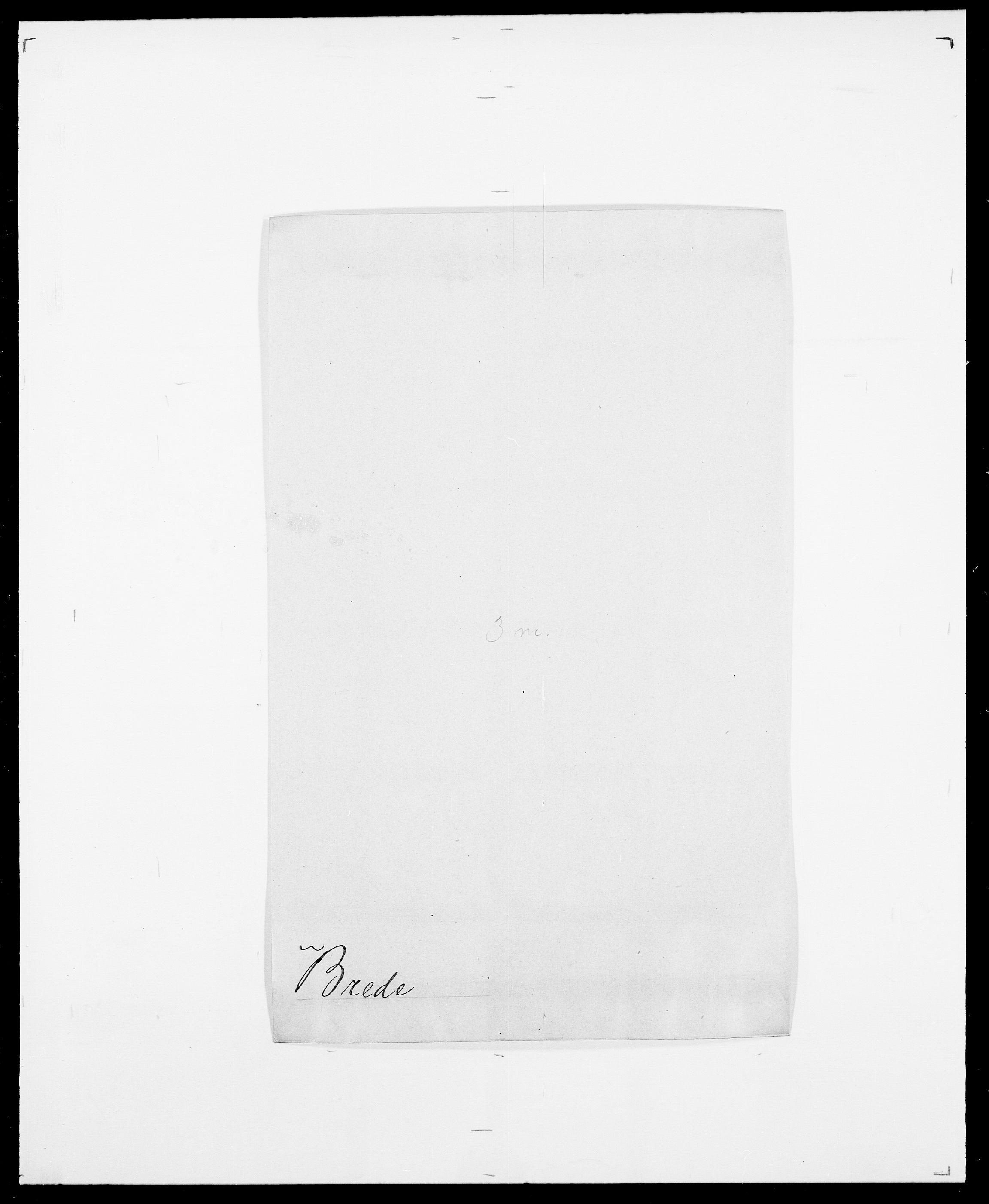 SAO, Delgobe, Charles Antoine - samling, D/Da/L0006: Brambani - Brønø, s. 244