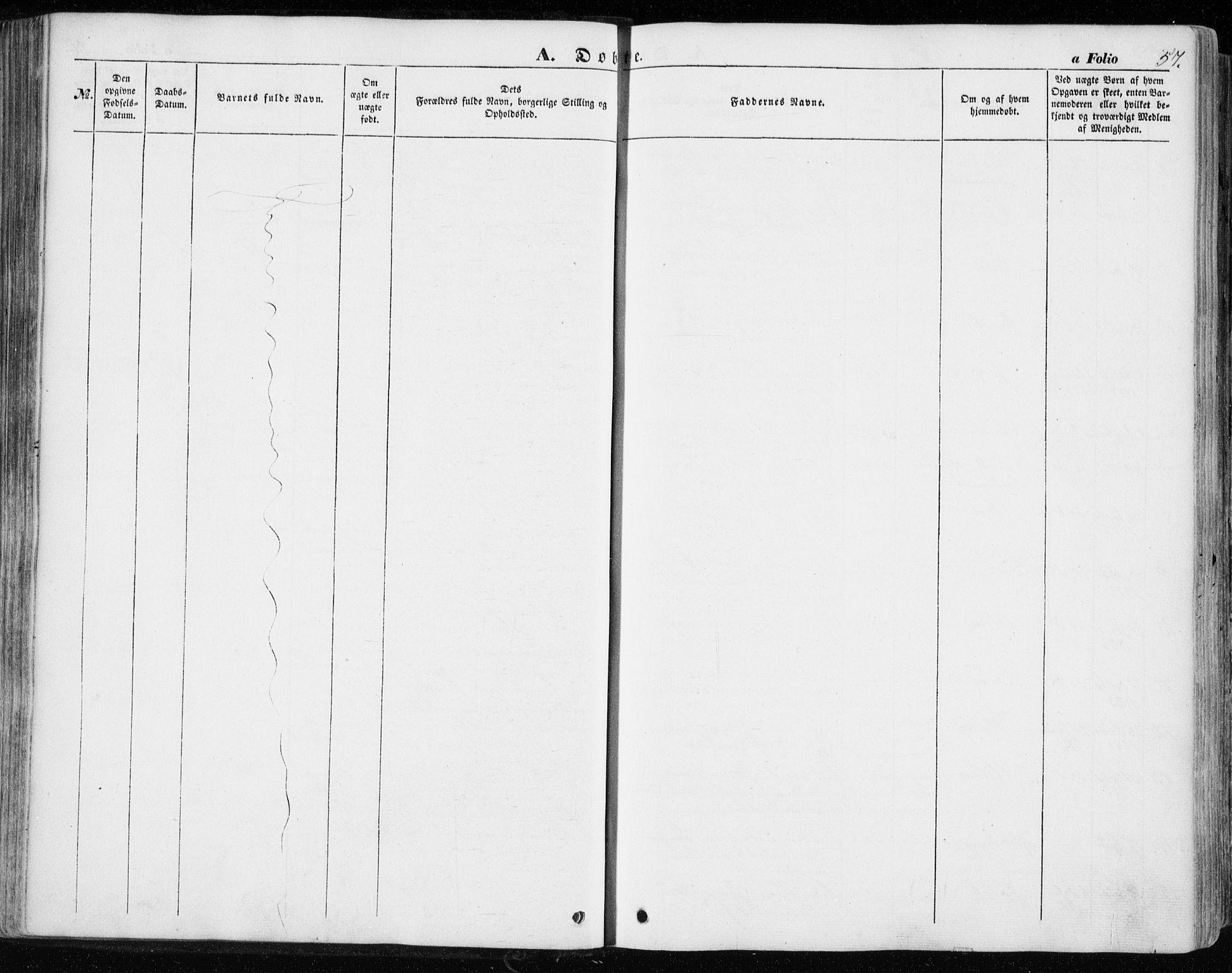 SAT, Ministerialprotokoller, klokkerbøker og fødselsregistre - Sør-Trøndelag, 646/L0611: Ministerialbok nr. 646A09, 1848-1857, s. 57