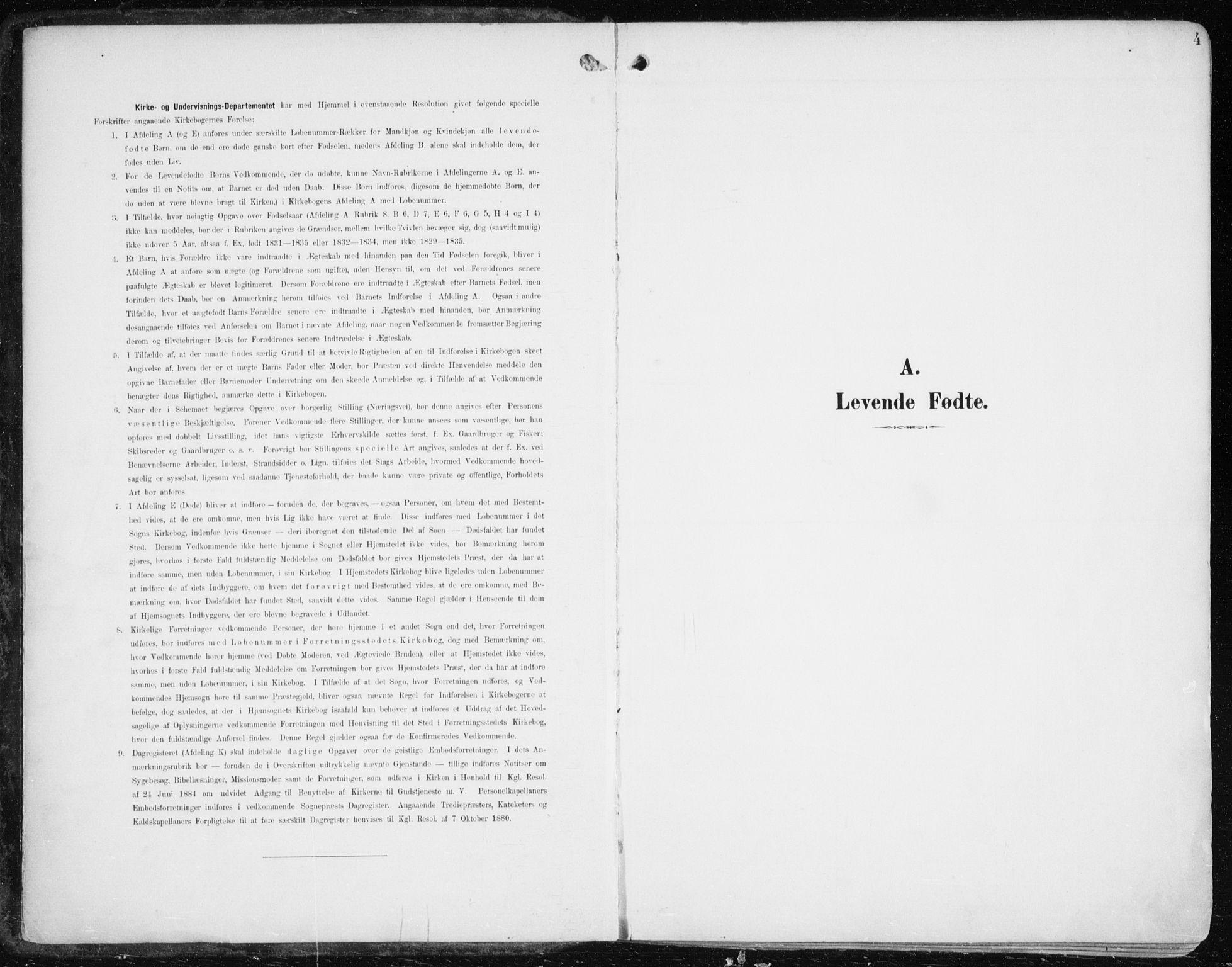 SATØ, Balsfjord sokneprestembete, Ministerialbok nr. 6, 1897-1909, s. 4