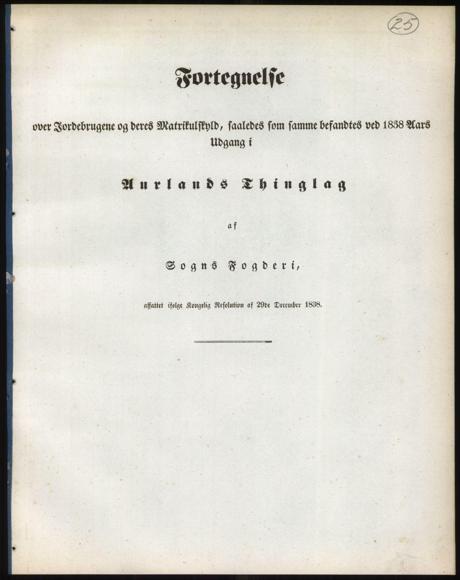RA, 1838-matrikkelen (publikasjon)*, 1838, s. 25