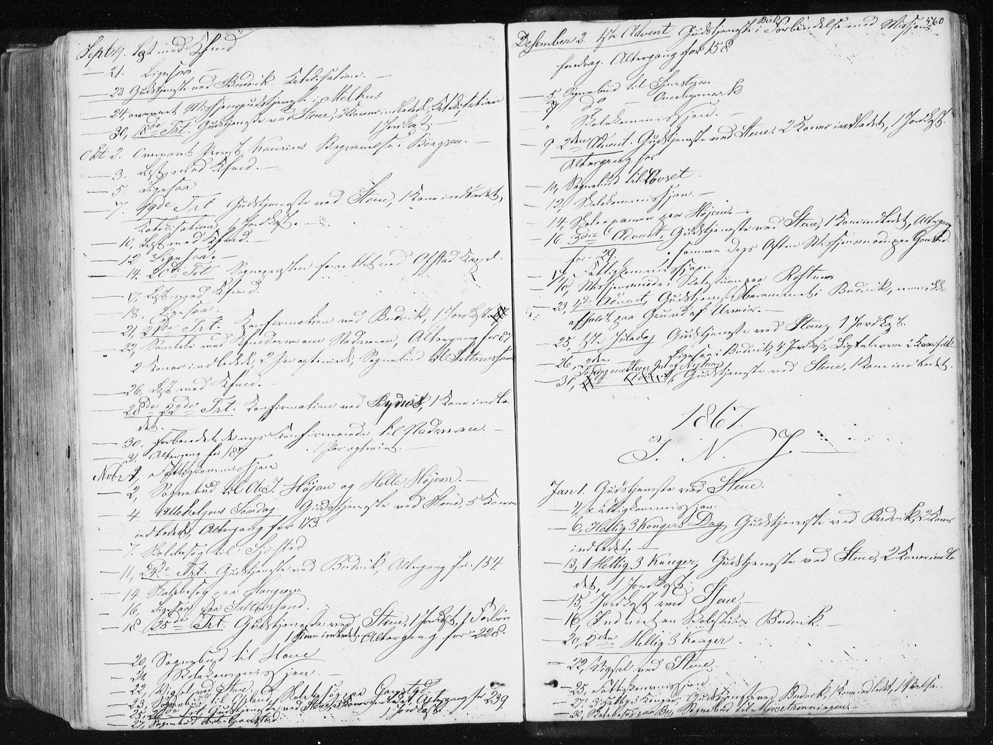 SAT, Ministerialprotokoller, klokkerbøker og fødselsregistre - Sør-Trøndelag, 612/L0377: Ministerialbok nr. 612A09, 1859-1877, s. 560