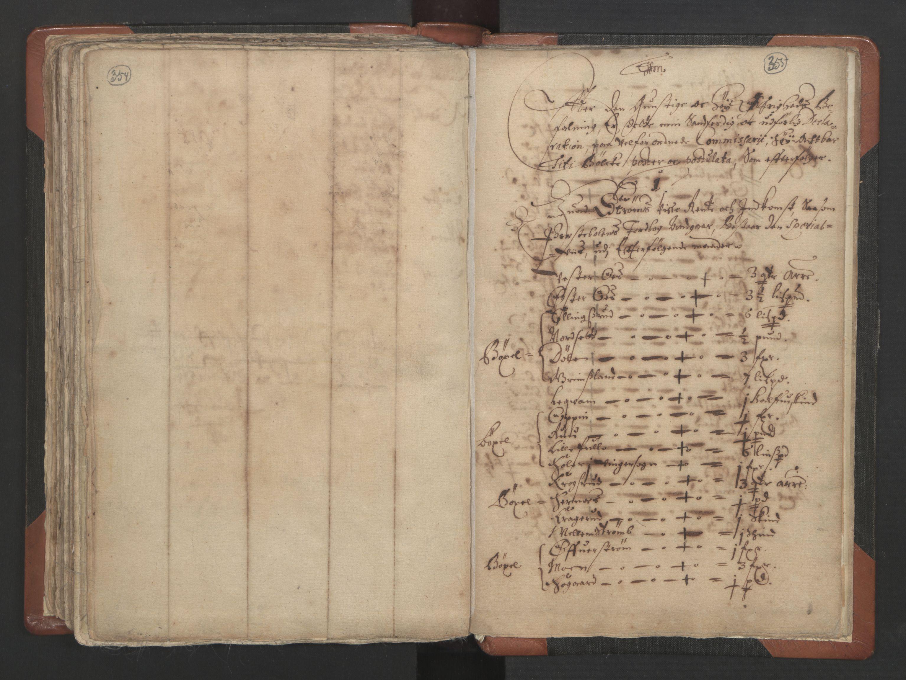 RA, Sogneprestenes manntall 1664-1666, nr. 4: Øvre Romerike prosti, 1664-1666, s. 354-355