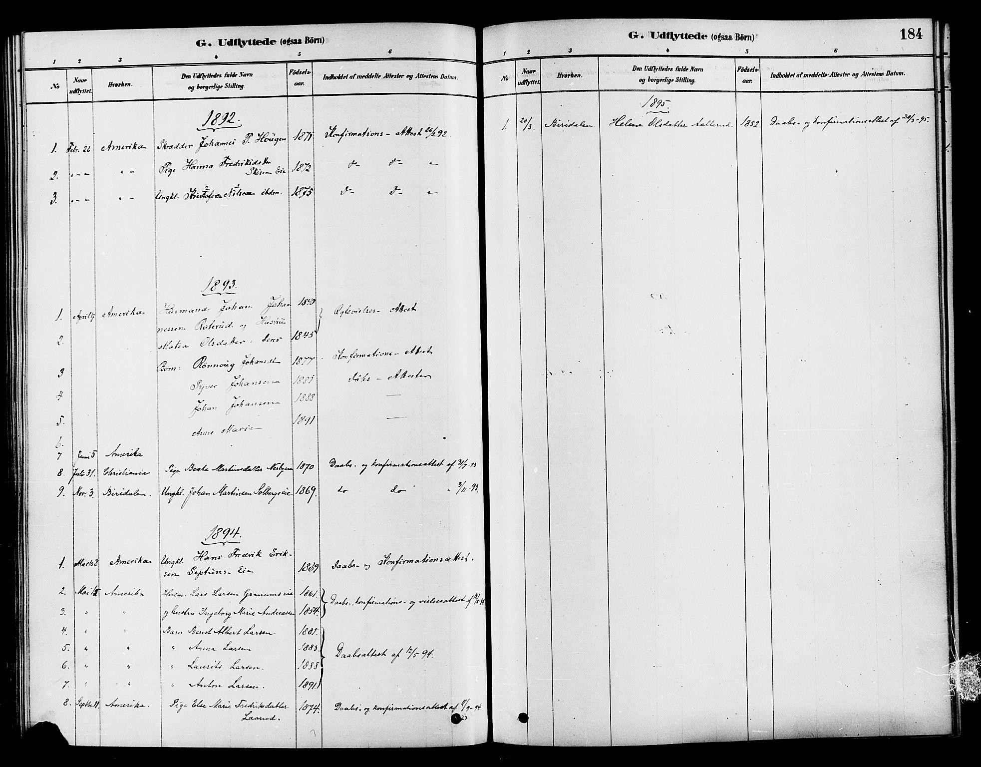 SAH, Søndre Land prestekontor, K/L0002: Ministerialbok nr. 2, 1878-1894, s. 184