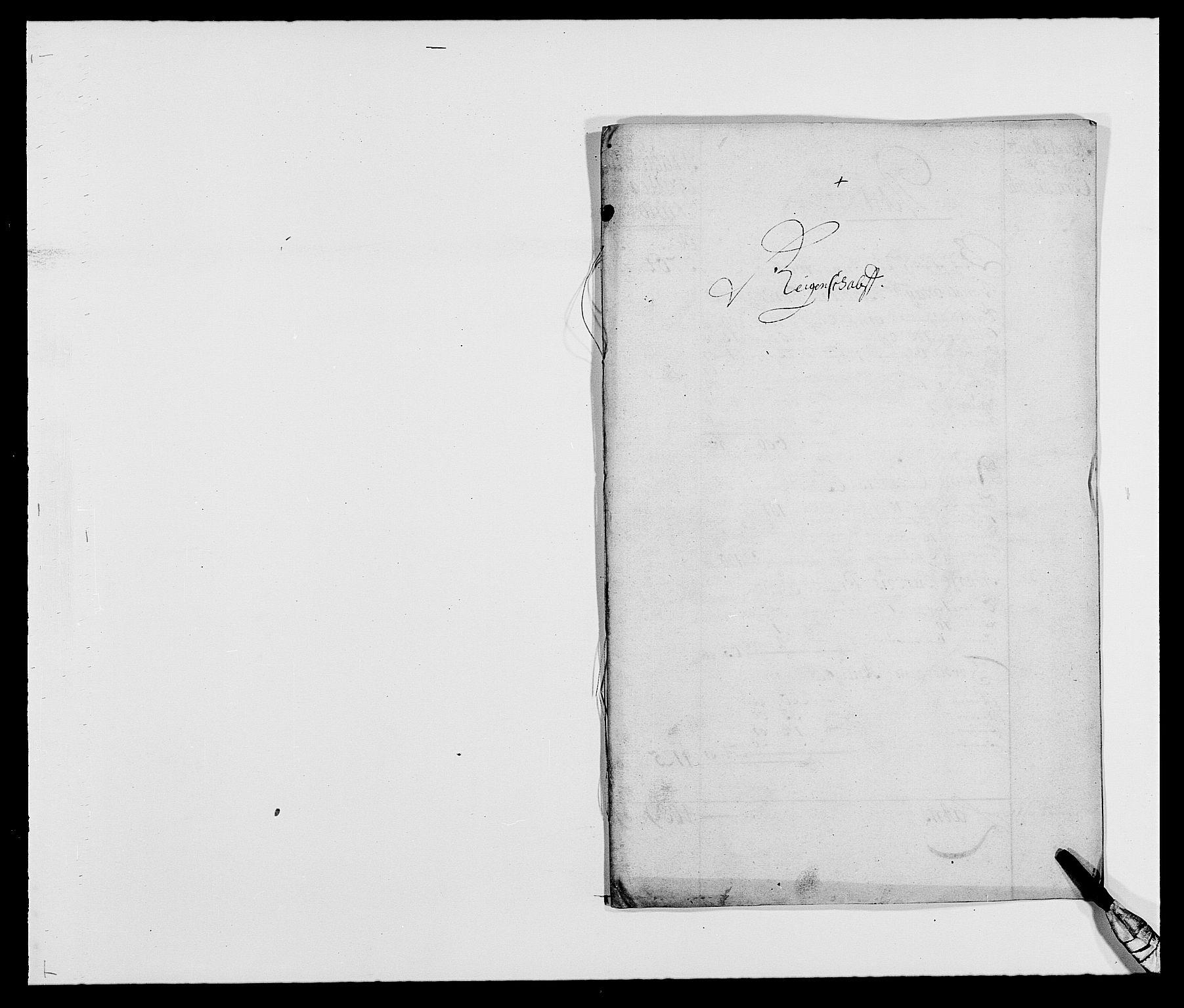 RA, Rentekammeret inntil 1814, Reviderte regnskaper, Fogderegnskap, R18/L1286: Fogderegnskap Hadeland, Toten og Valdres, 1687, s. 2