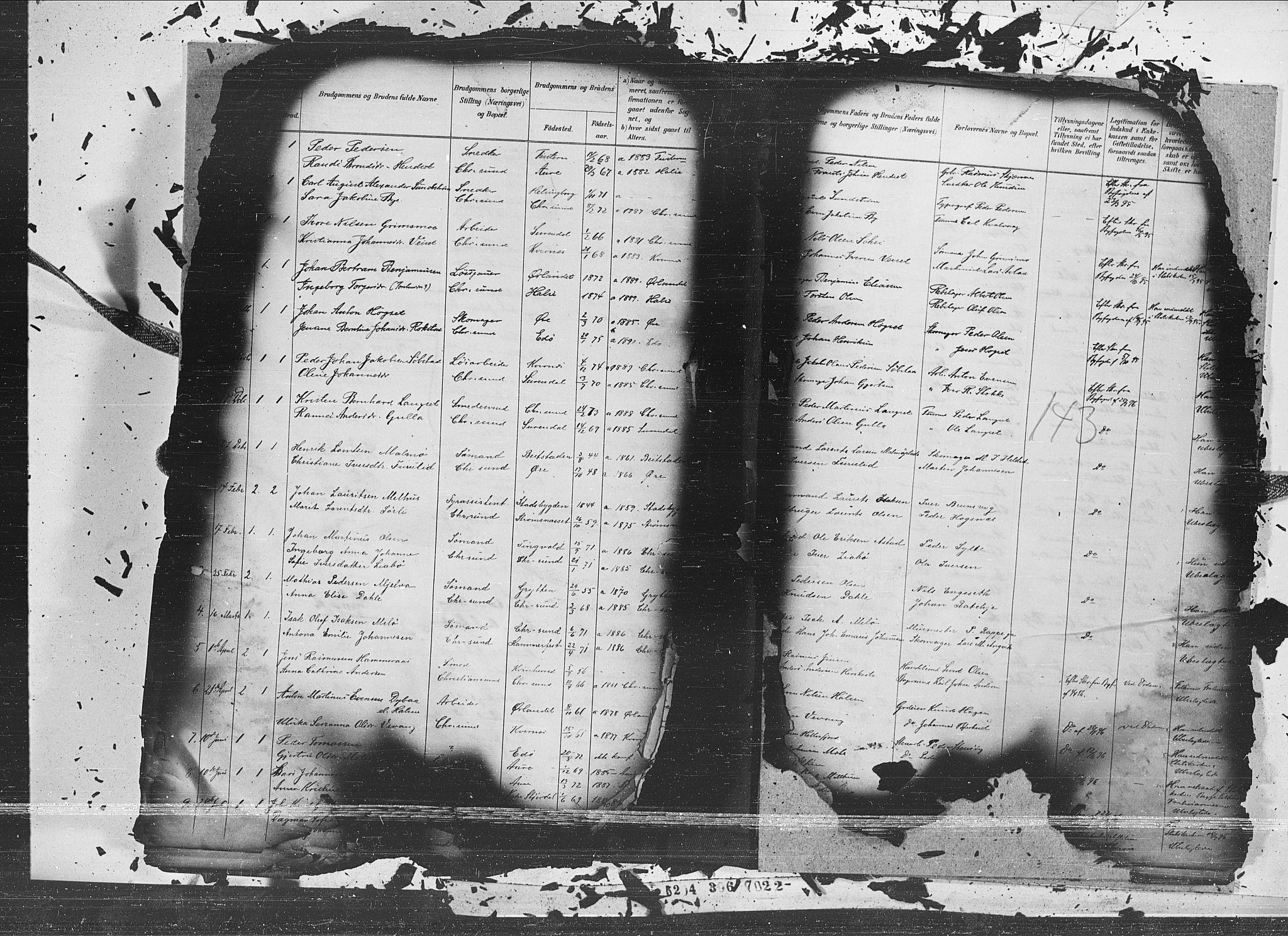 SAT, Ministerialprotokoller, klokkerbøker og fødselsregistre - Møre og Romsdal, 572/L0854: Ministerialbok nr. 572A17, 1880-1905, s. 143