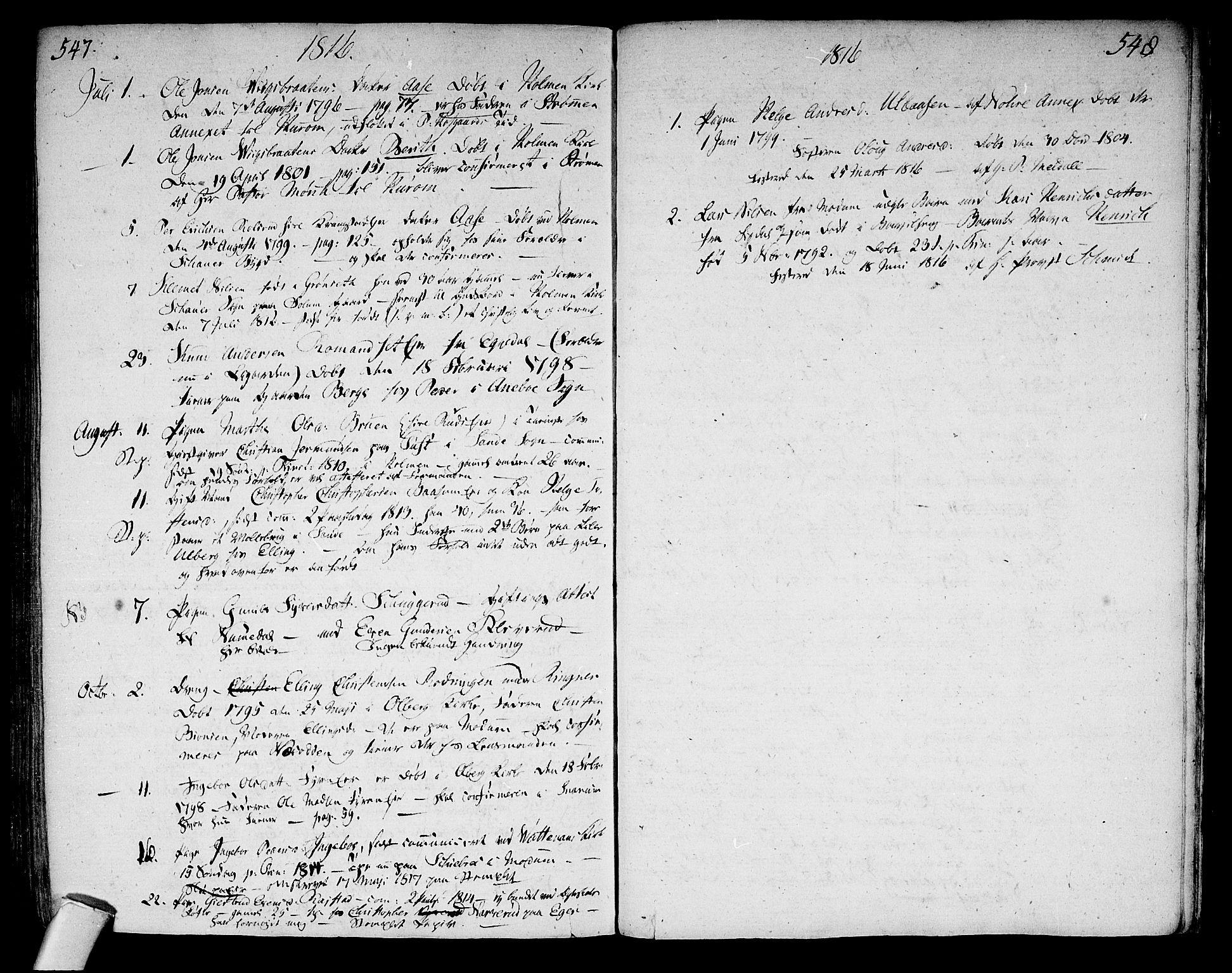 SAKO, Sigdal kirkebøker, F/Fa/L0003: Ministerialbok nr. I 3, 1793-1811, s. 547-548