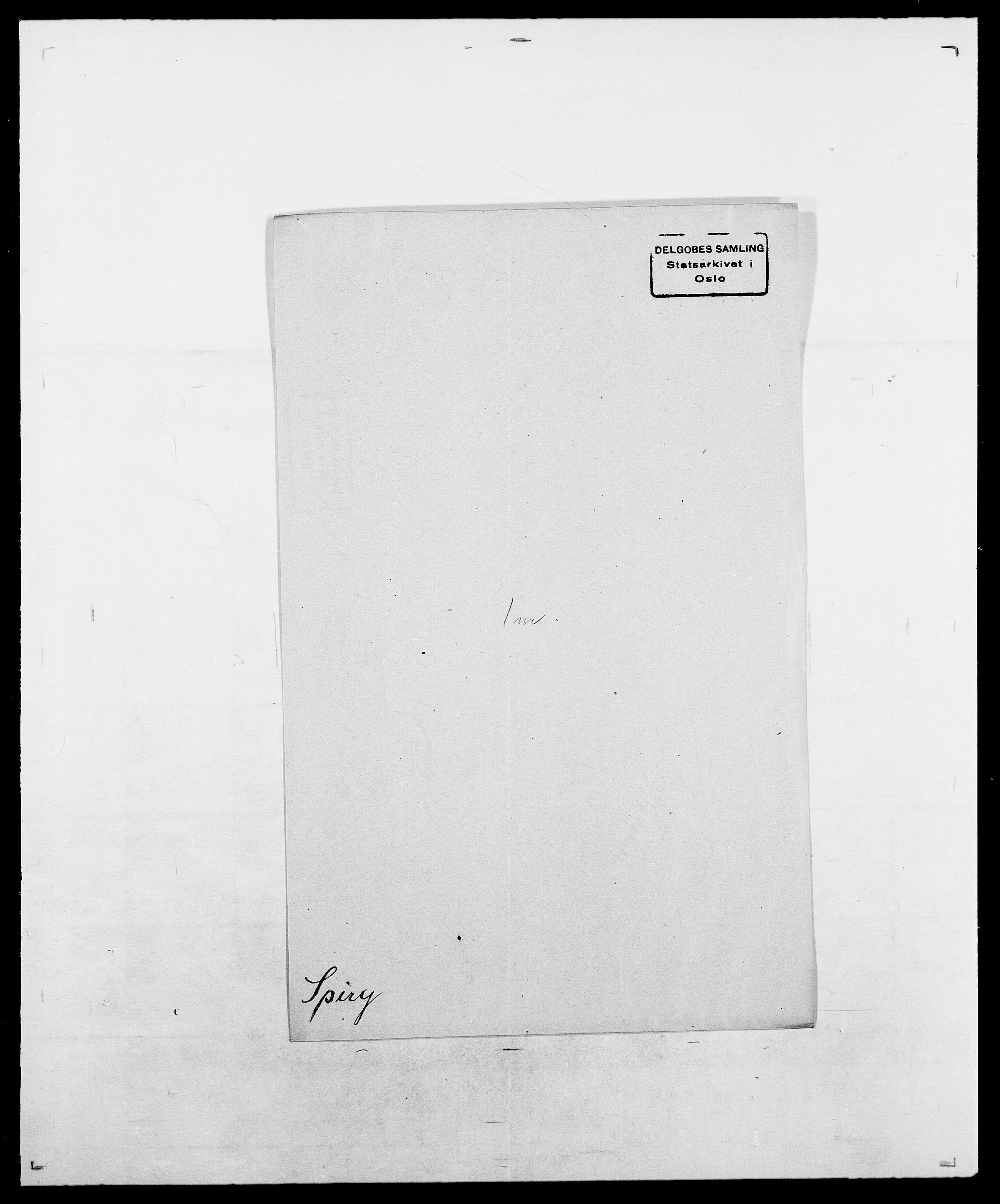 SAO, Delgobe, Charles Antoine - samling, D/Da/L0036: Skaanør - Staverskov, s. 558