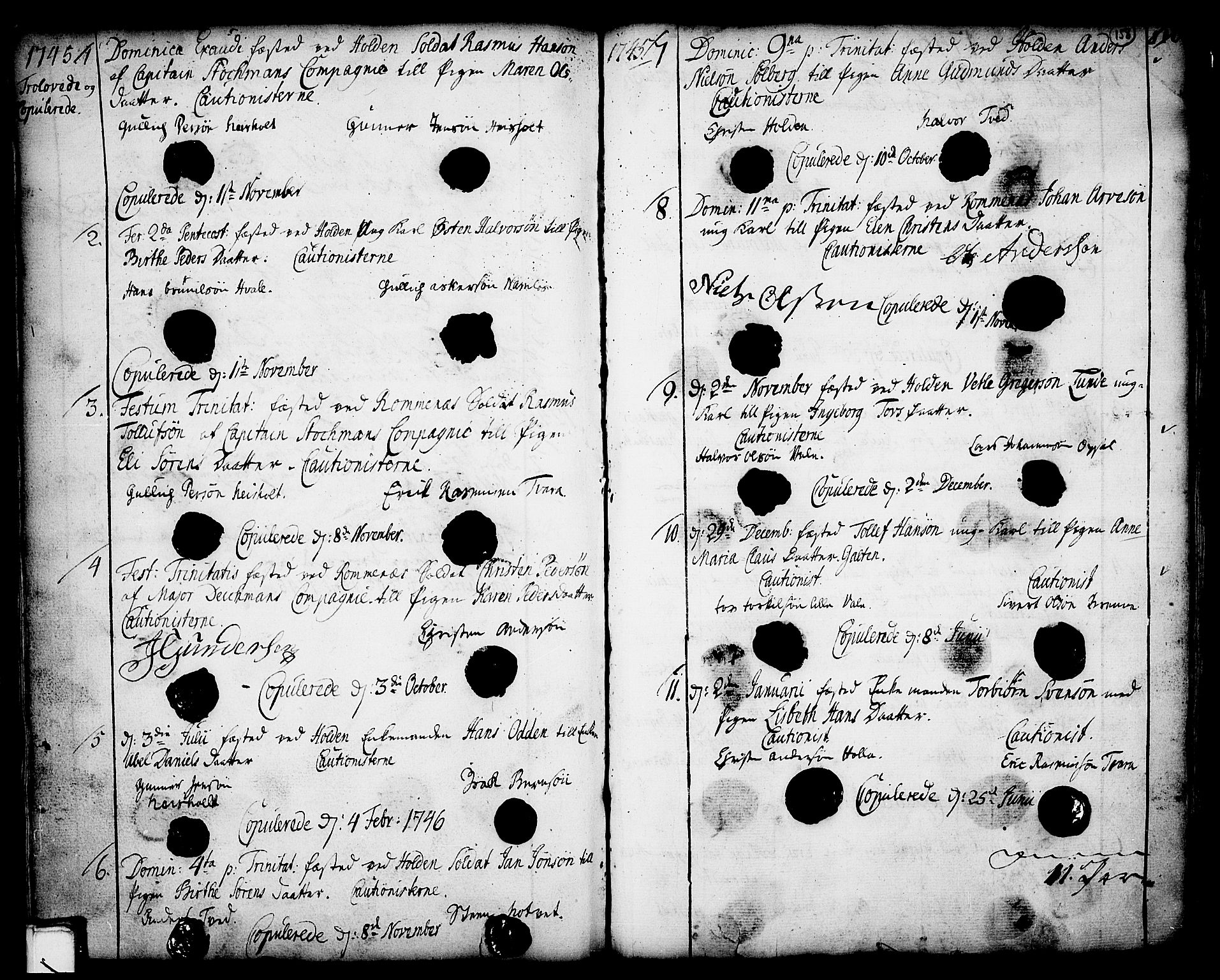 SAKO, Holla kirkebøker, F/Fa/L0001: Ministerialbok nr. 1, 1717-1779, s. 158
