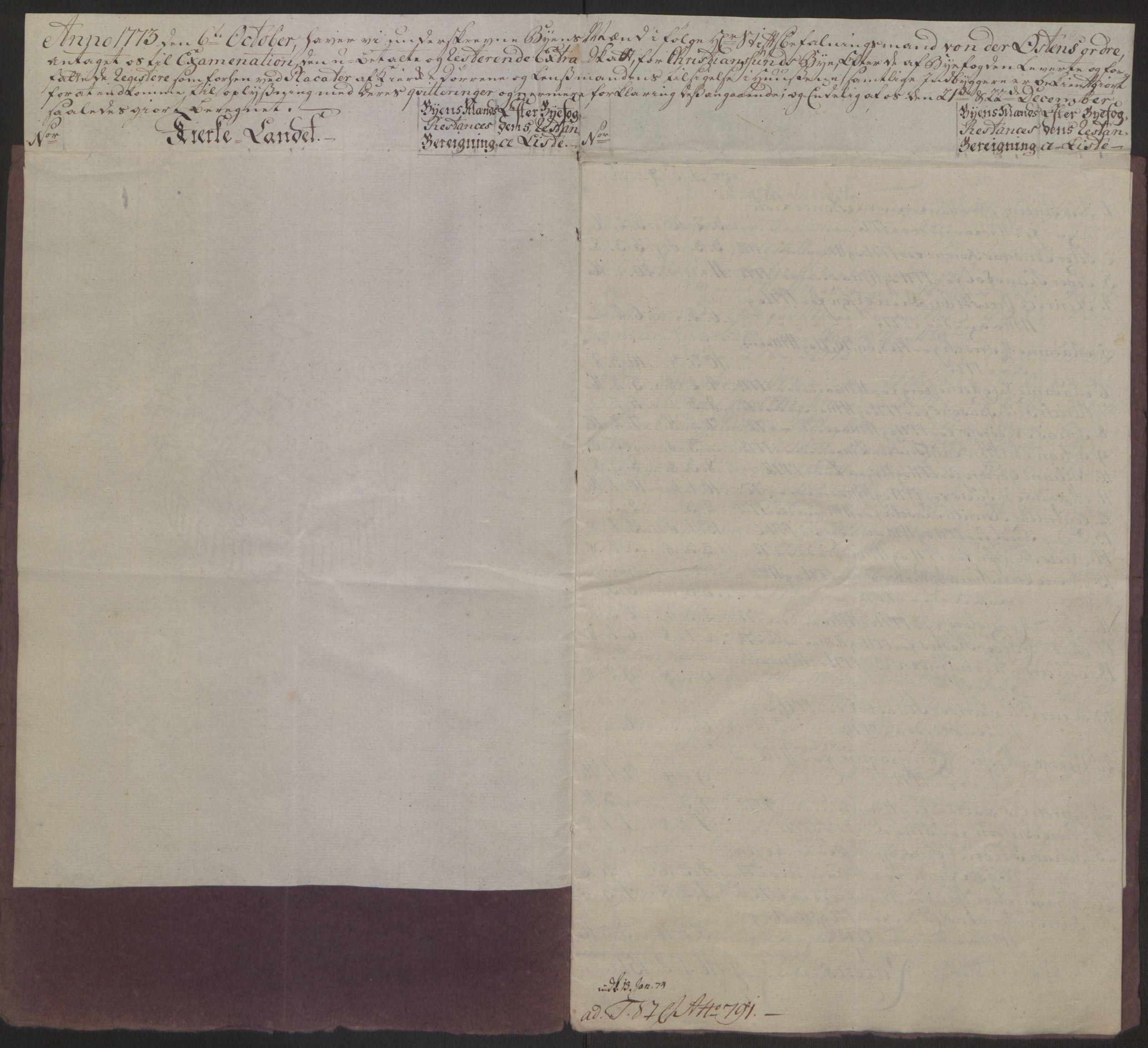 RA, Rentekammeret inntil 1814, Reviderte regnskaper, Byregnskaper, R/Rr/L0495: [R1] Kontribusjonsregnskap, 1762-1772, s. 279