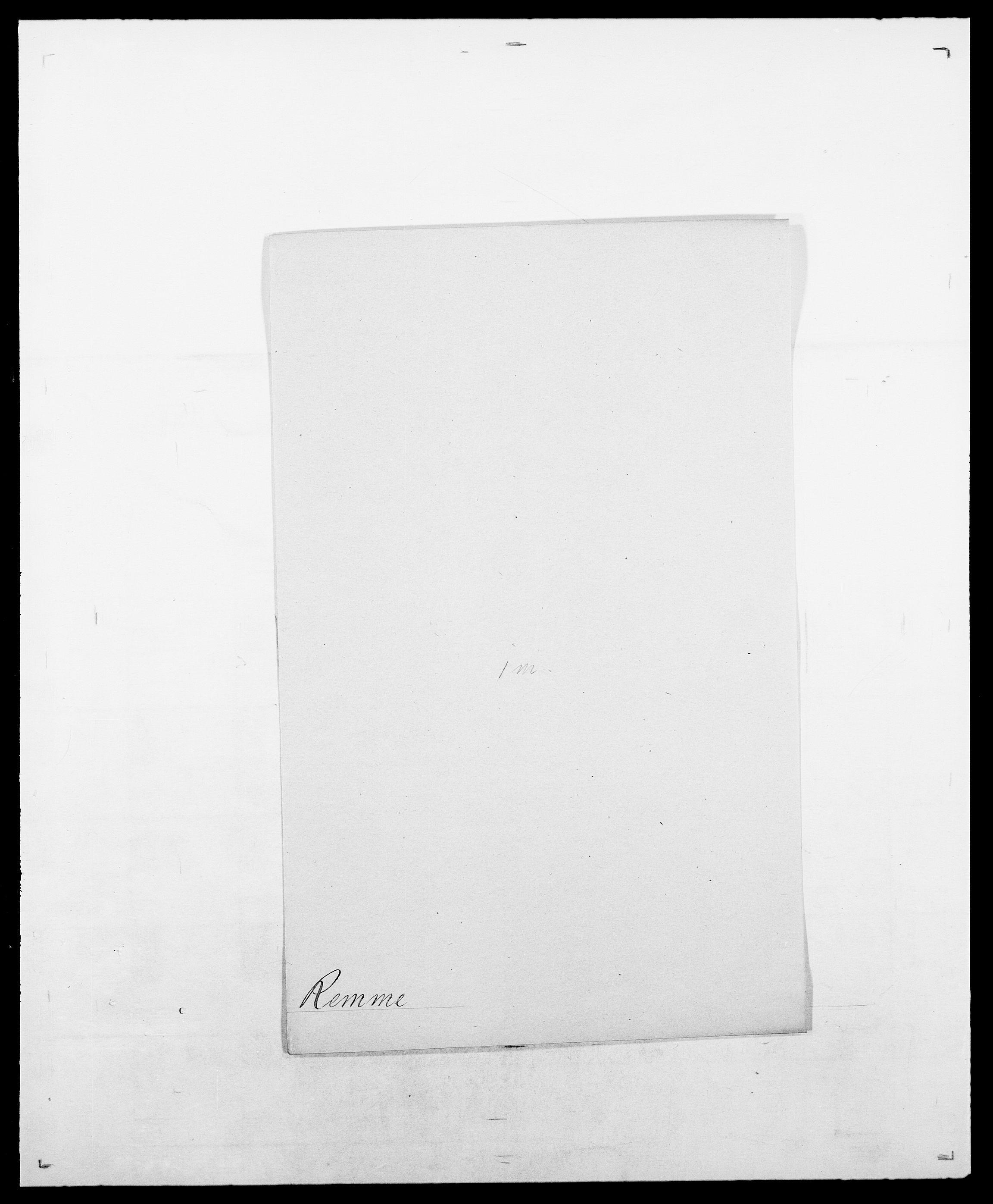 SAO, Delgobe, Charles Antoine - samling, D/Da/L0032: Rabakovsky - Rivertz, s. 407