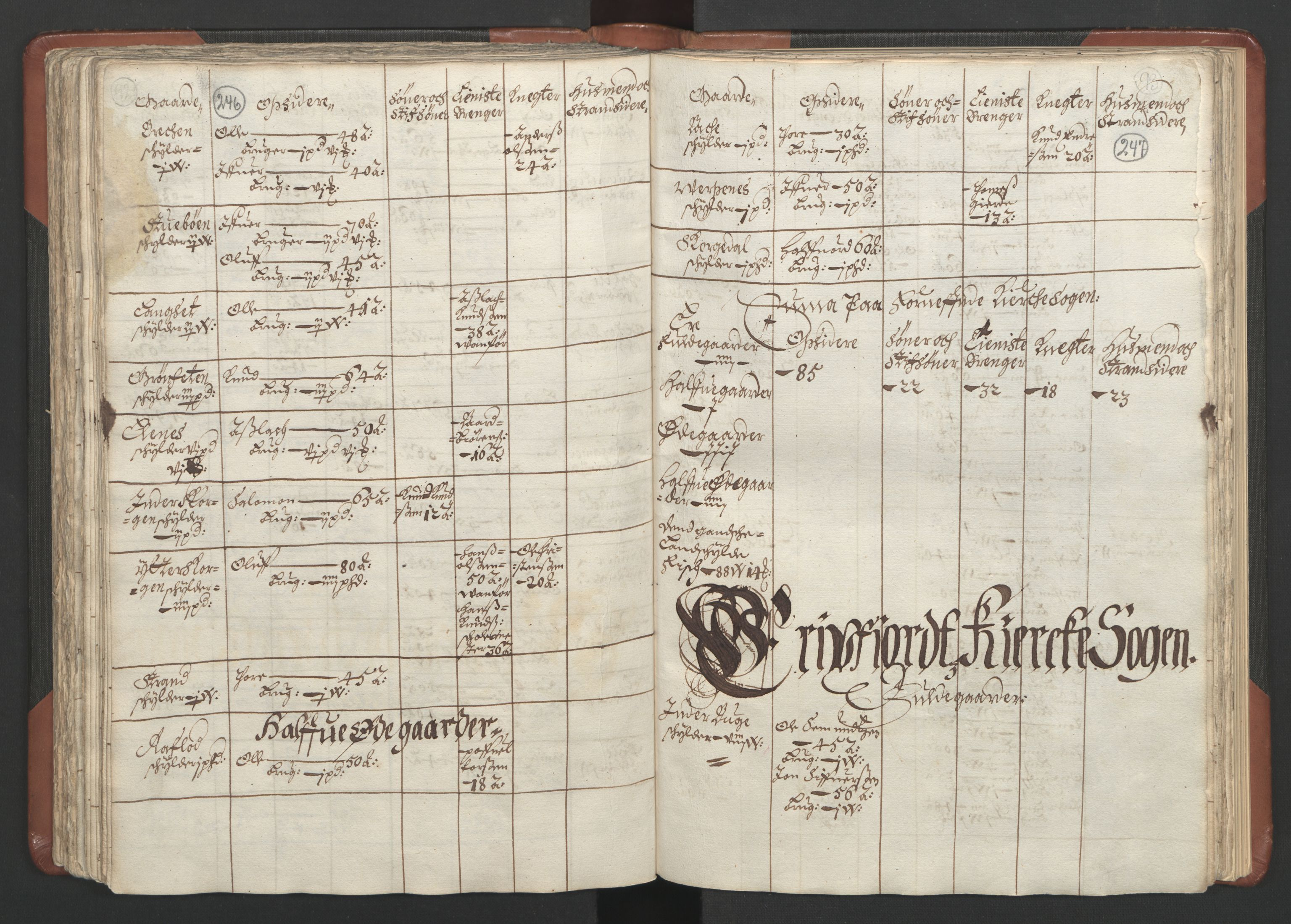 RA, Fogdenes og sorenskrivernes manntall 1664-1666, nr. 16: Romsdal fogderi og Sunnmøre fogderi, 1664-1665, s. 246-247