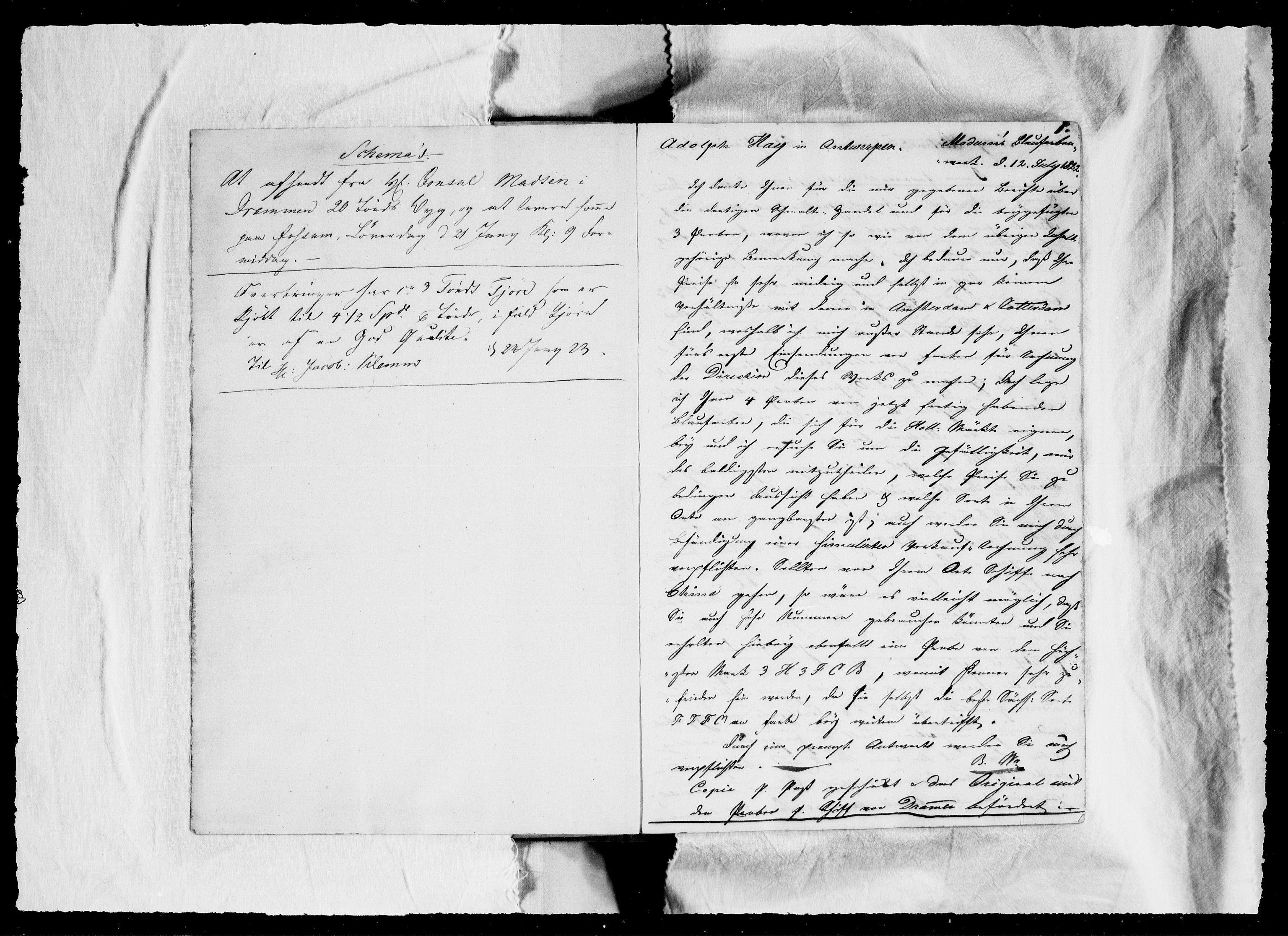RA, Modums Blaafarveværk, G/Gb/L0068, 1822-1824, s. 2