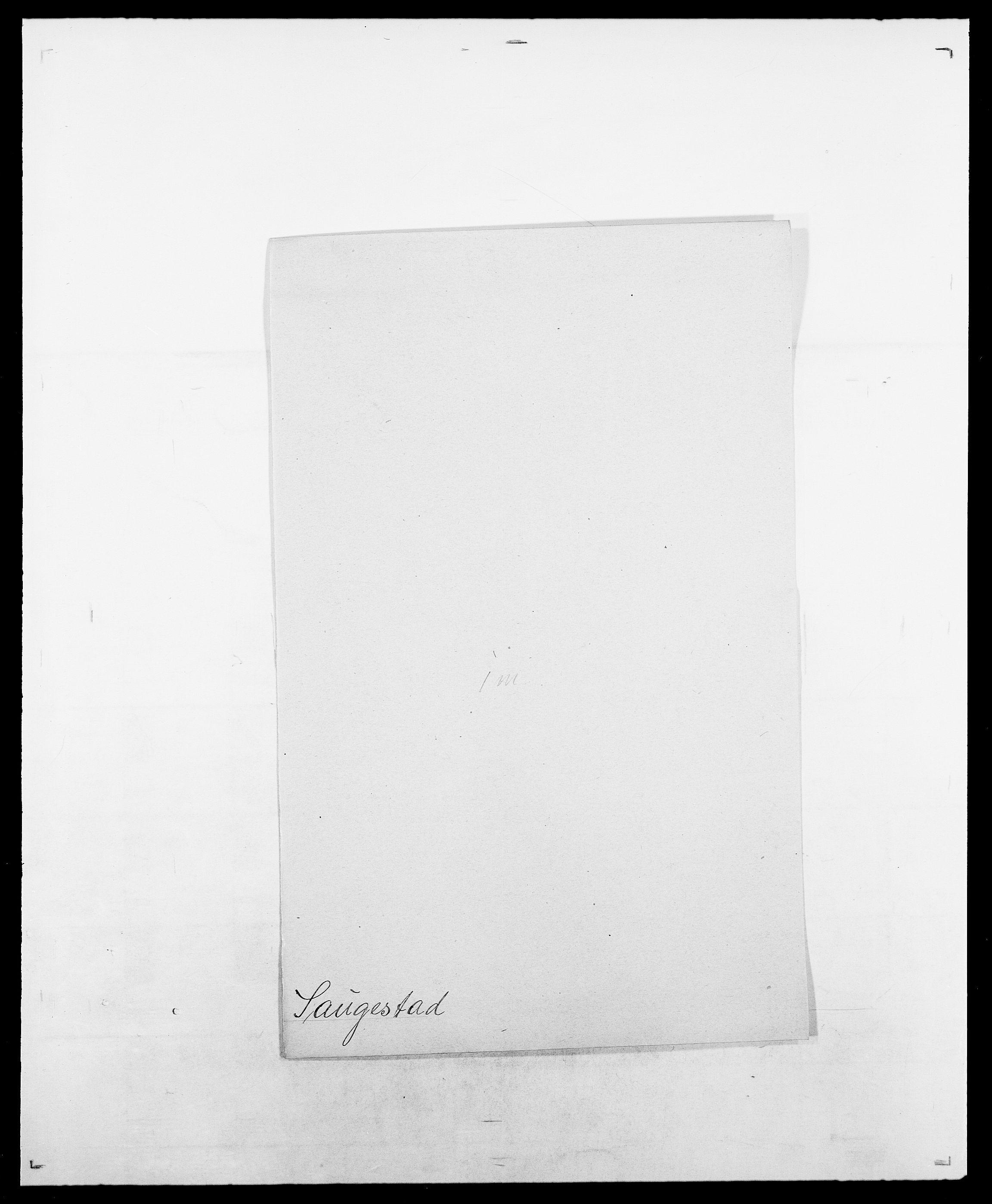 SAO, Delgobe, Charles Antoine - samling, D/Da/L0034: Saabye - Schmincke, s. 219