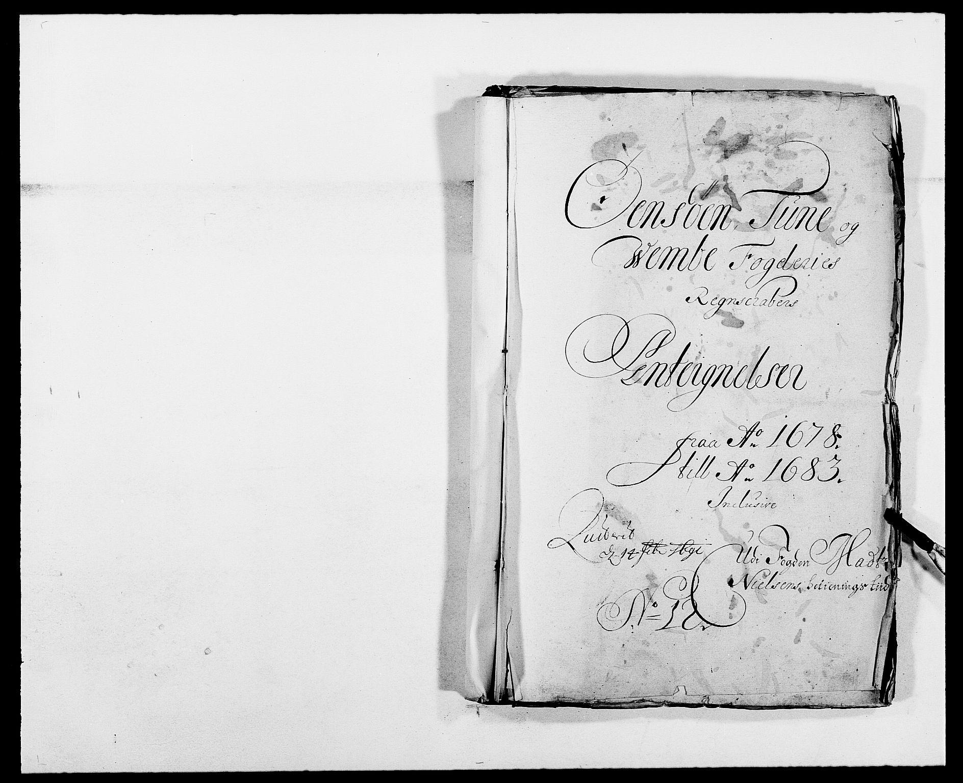 RA, Rentekammeret inntil 1814, Reviderte regnskaper, Fogderegnskap, R03/L0113: Fogderegnskap Onsøy, Tune, Veme og Åbygge fogderi, 1681-1683, s. 42