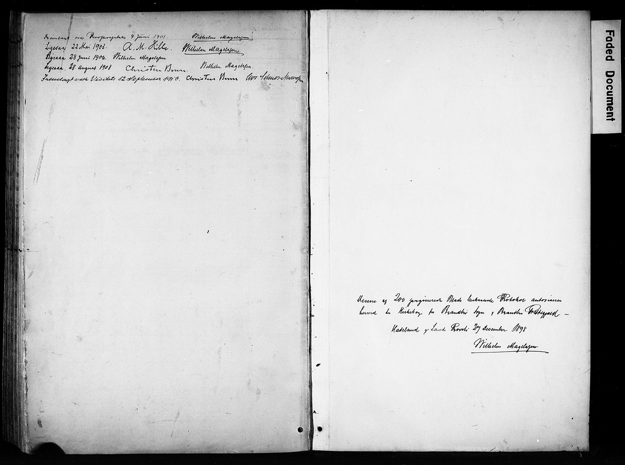 SAH, Brandbu prestekontor, Ministerialbok nr. 1, 1900-1912, s. 201