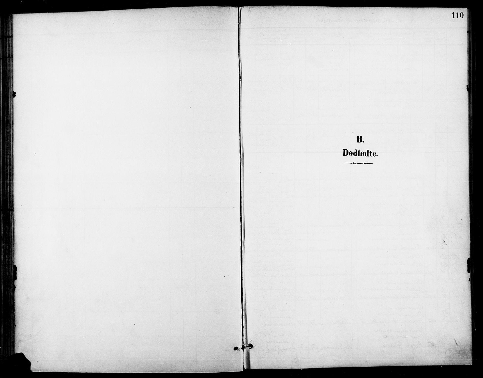 SAH, Gran prestekontor, Ministerialbok nr. 19, 1898-1907, s. 110