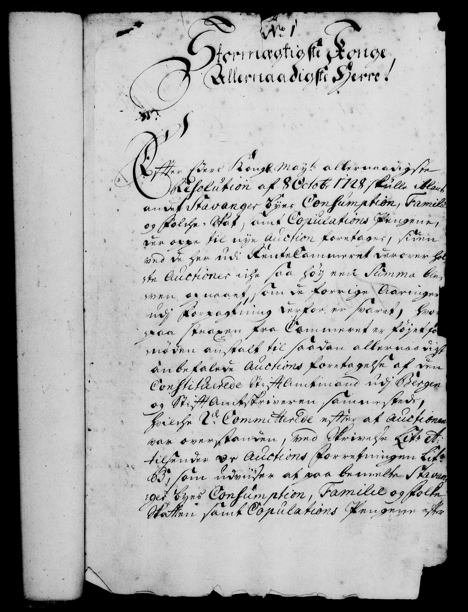 RA, Rentekammeret, Kammerkanselliet, G/Gf/Gfa/L0012: Norsk relasjons- og resolusjonsprotokoll (merket RK 52.12), 1729, s. 28