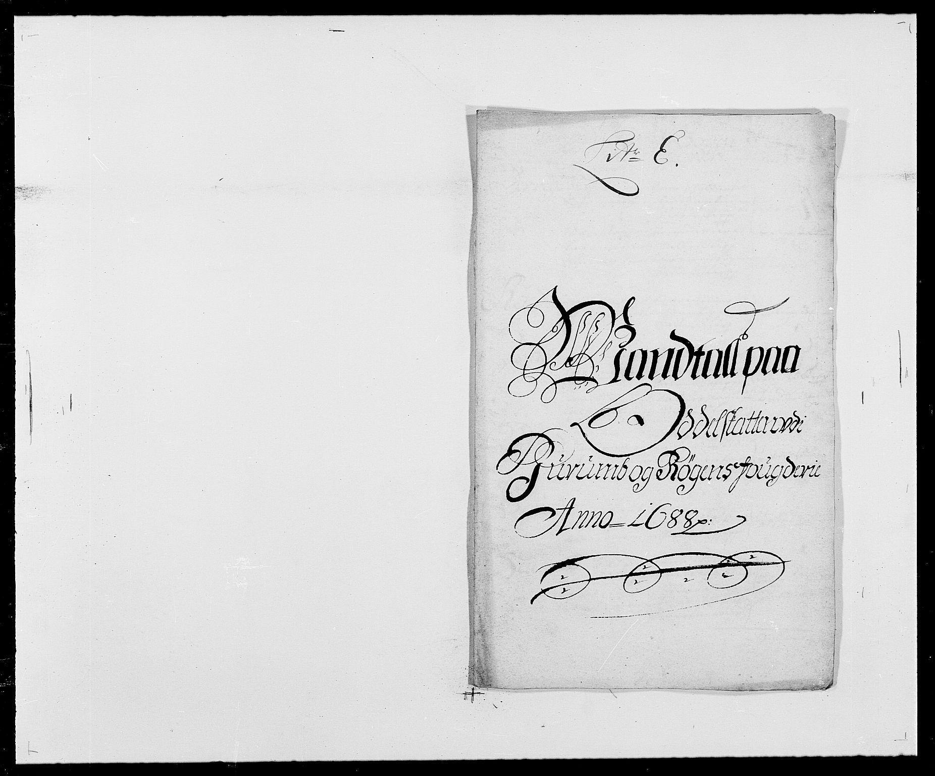 RA, Rentekammeret inntil 1814, Reviderte regnskaper, Fogderegnskap, R29/L1693: Fogderegnskap Hurum og Røyken, 1688-1693, s. 57