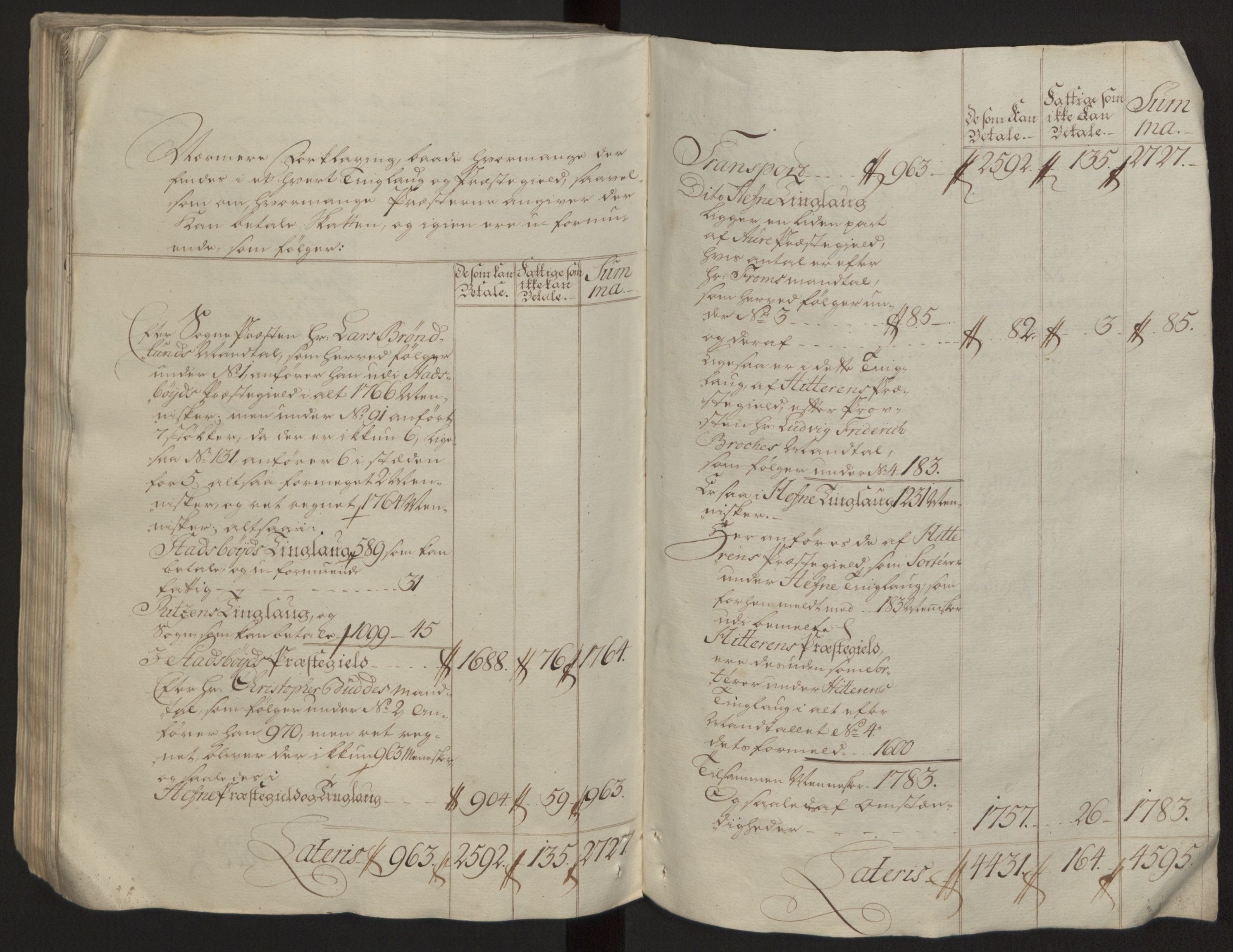 RA, Rentekammeret inntil 1814, Reviderte regnskaper, Fogderegnskap, R57/L3930: Ekstraskatten Fosen, 1762-1763, s. 172