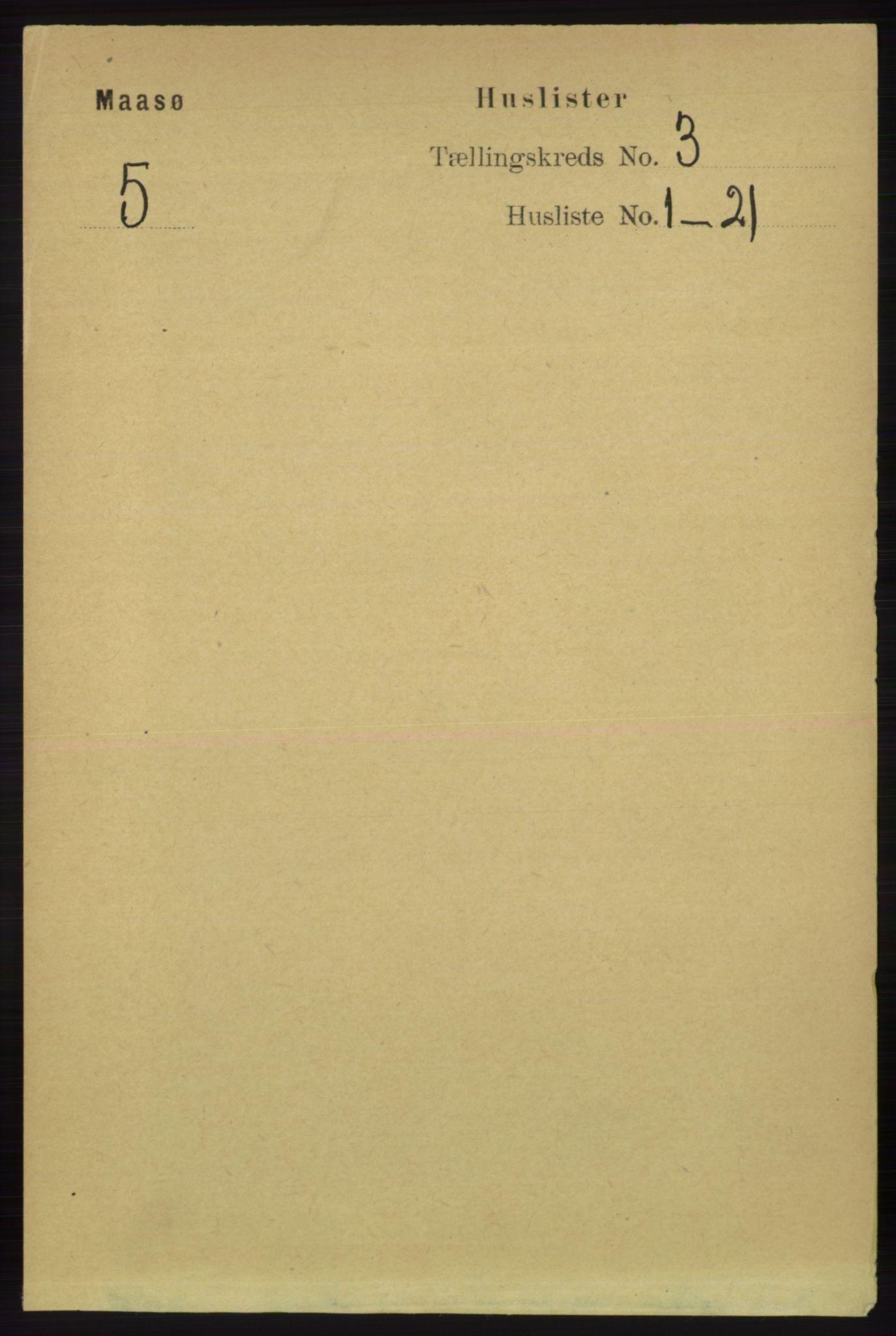 RA, Folketelling 1891 for 2018 Måsøy herred, 1891, s. 361