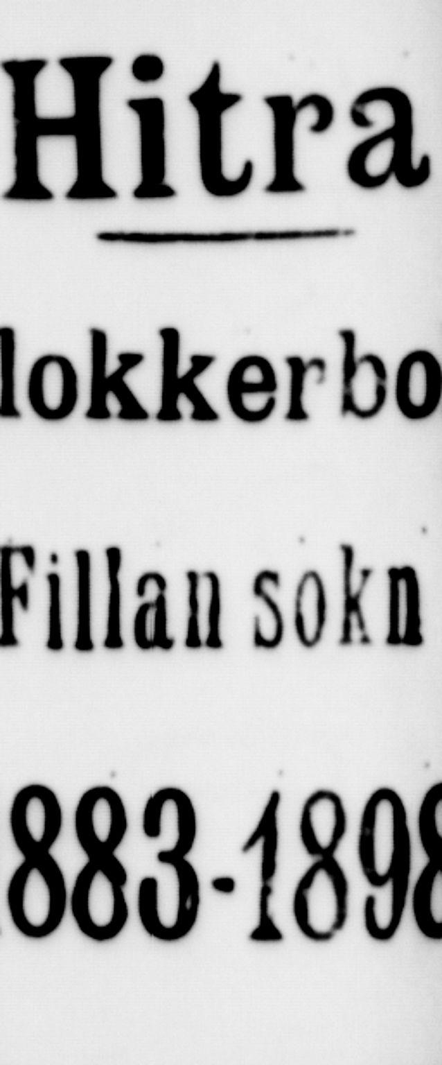 SAT, Ministerialprotokoller, klokkerbøker og fødselsregistre - Sør-Trøndelag, 637/L0562: Klokkerbok nr. 637C03, 1883-1898